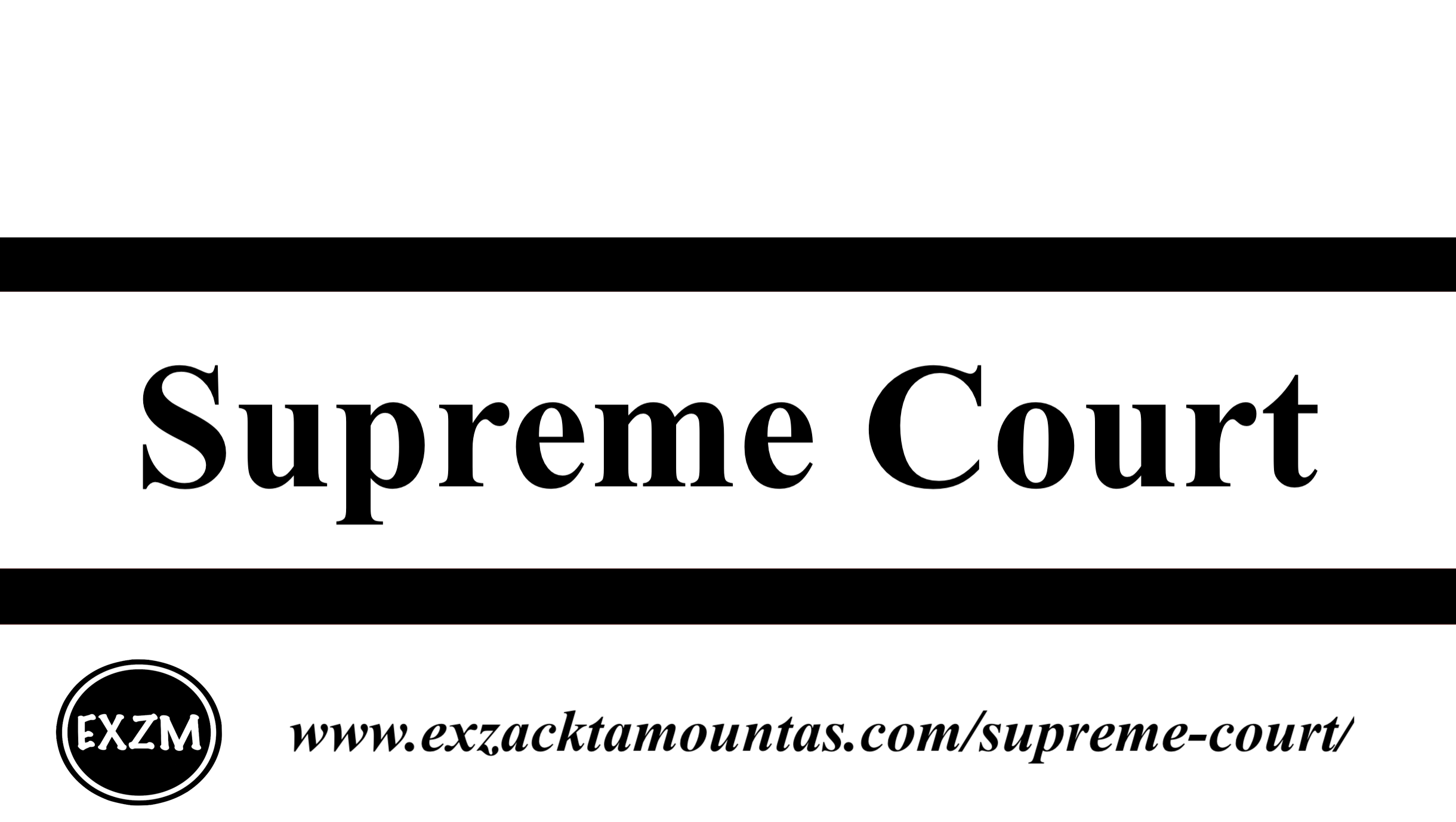 Supreme Court EXZM 9 30 2019