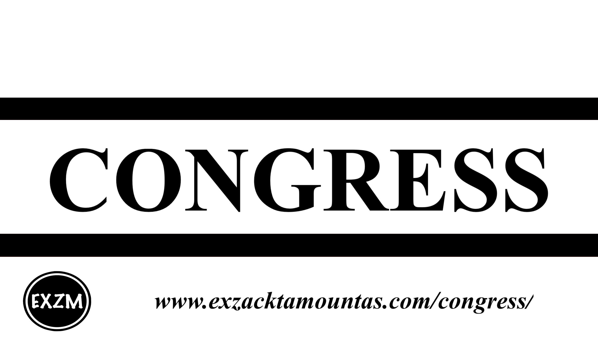 Congress EXZM 10 2 2019