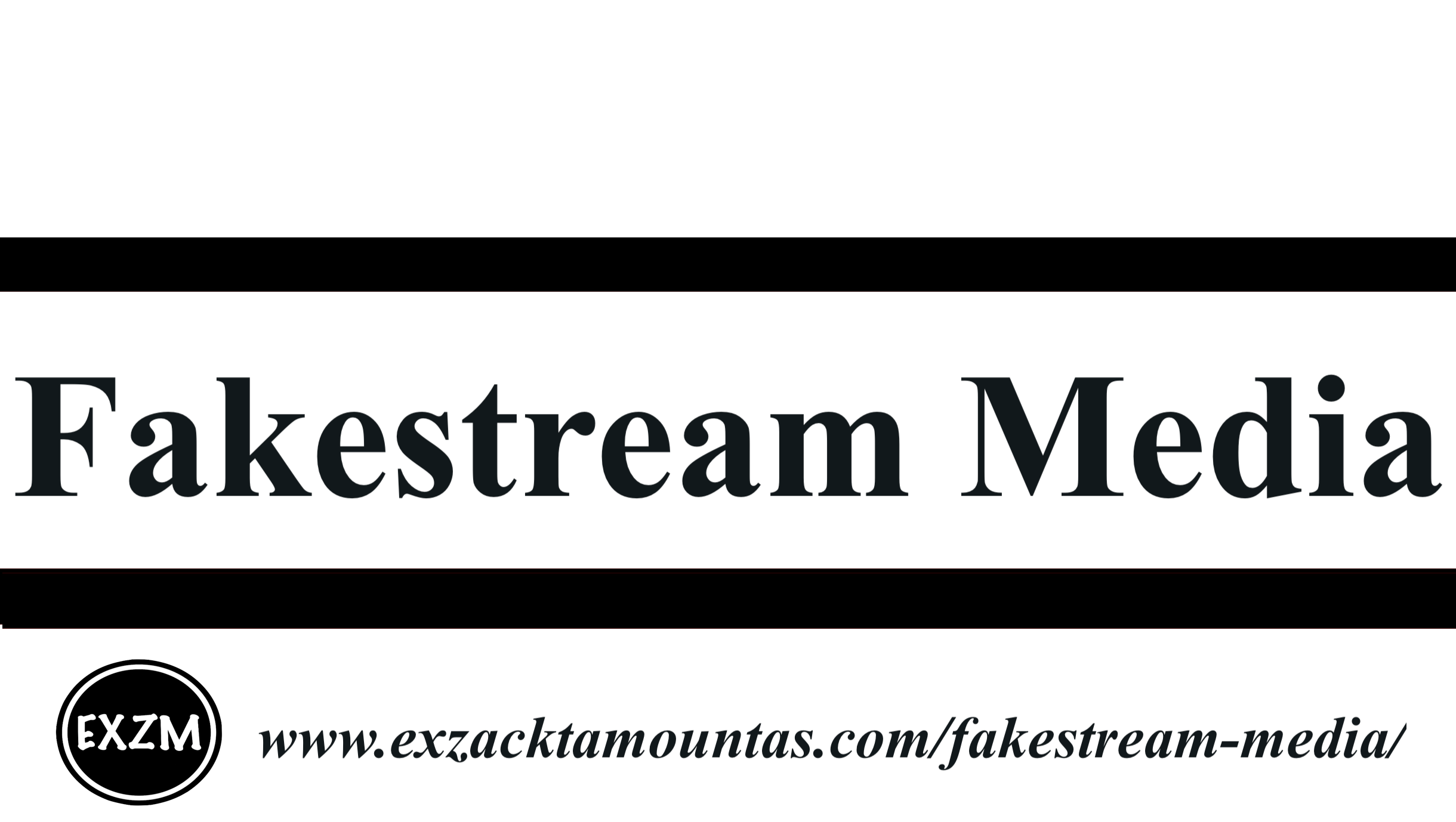 Fakestream Media EXZM 10 4 2019