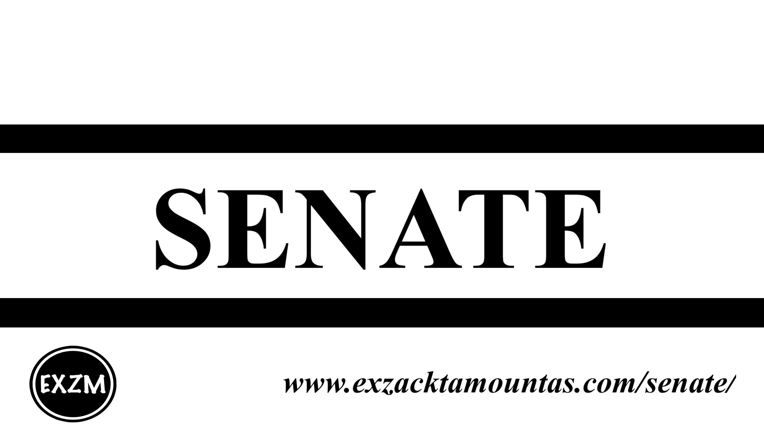 Senate EXZM 10 2 2019