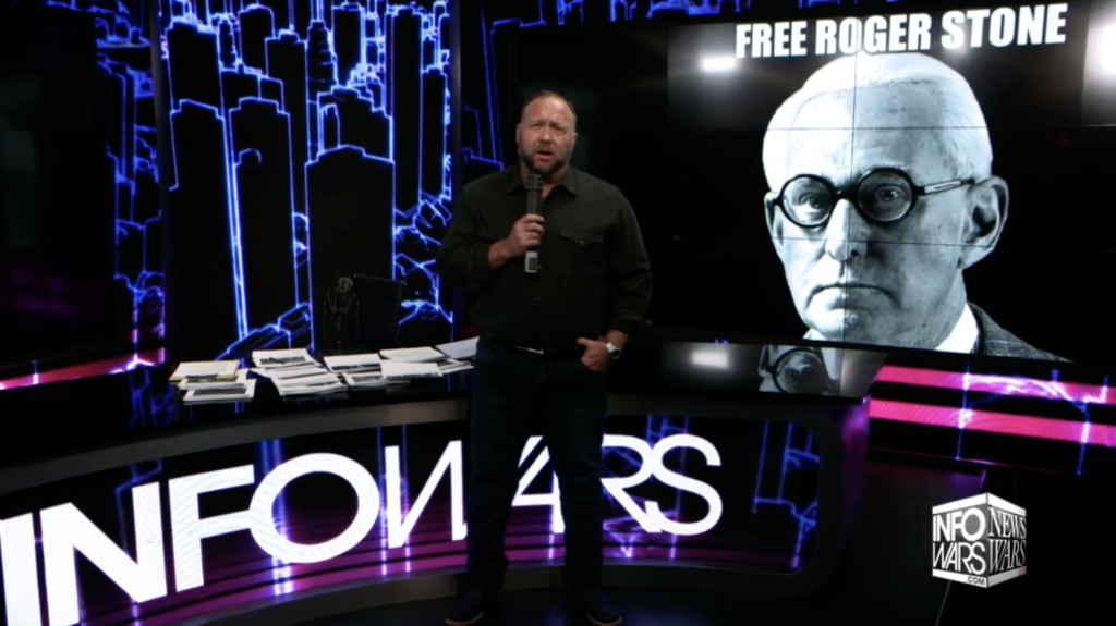 Alex Jones Free Roger Stone Infowars 11 14 21019 1