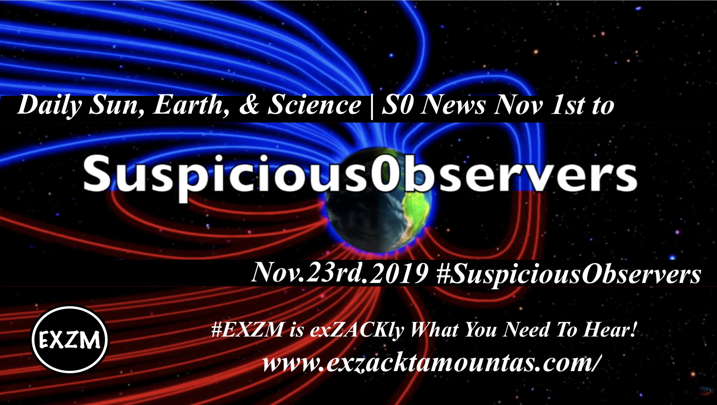 EXZM Suspicious Observers 11 23 2019