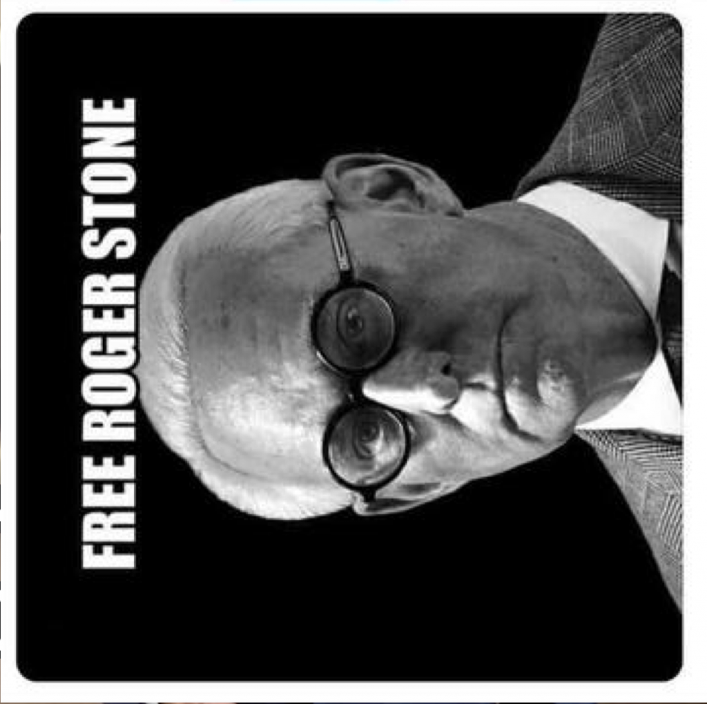 Free Roger Stone Poster 11 17 2019 1