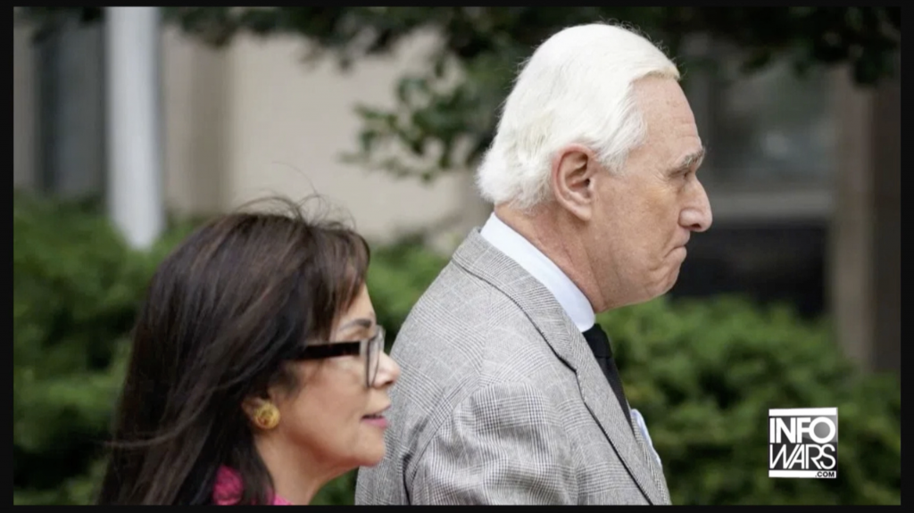 Roger Stone and wife 11 8 2019 2