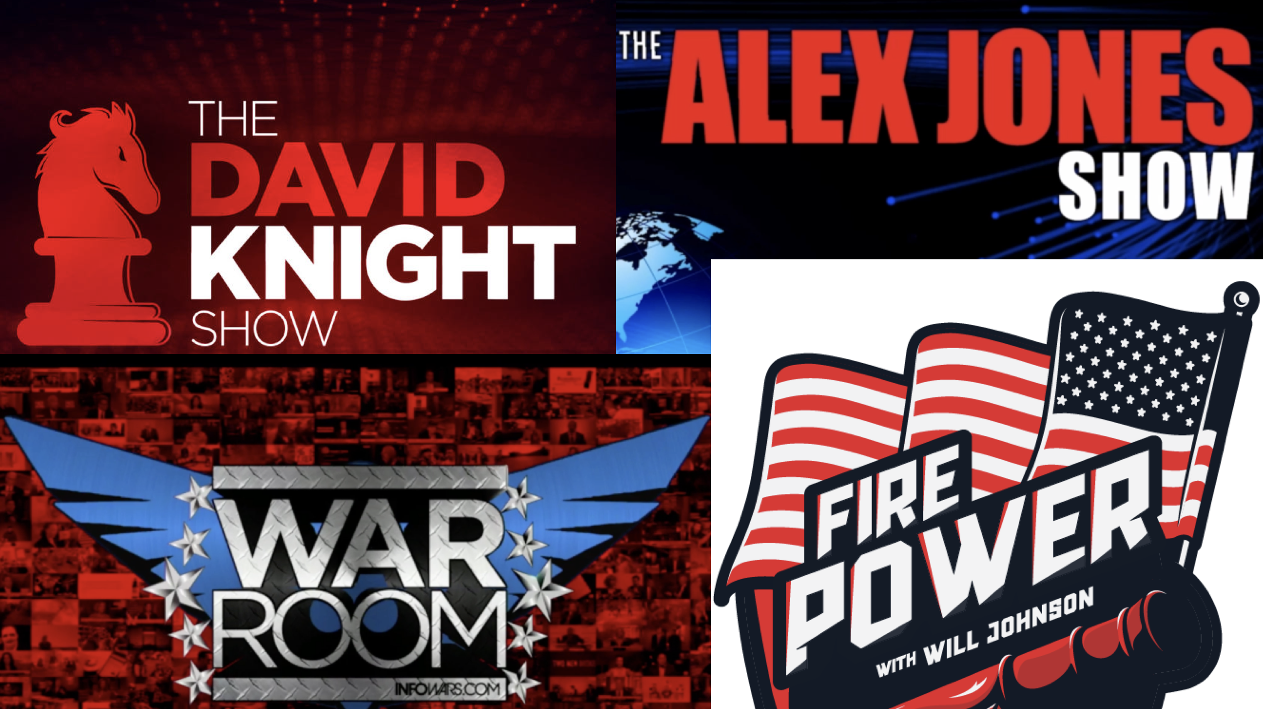 David Knight Alex Jones WarRoom FirePower 12 5 2019
