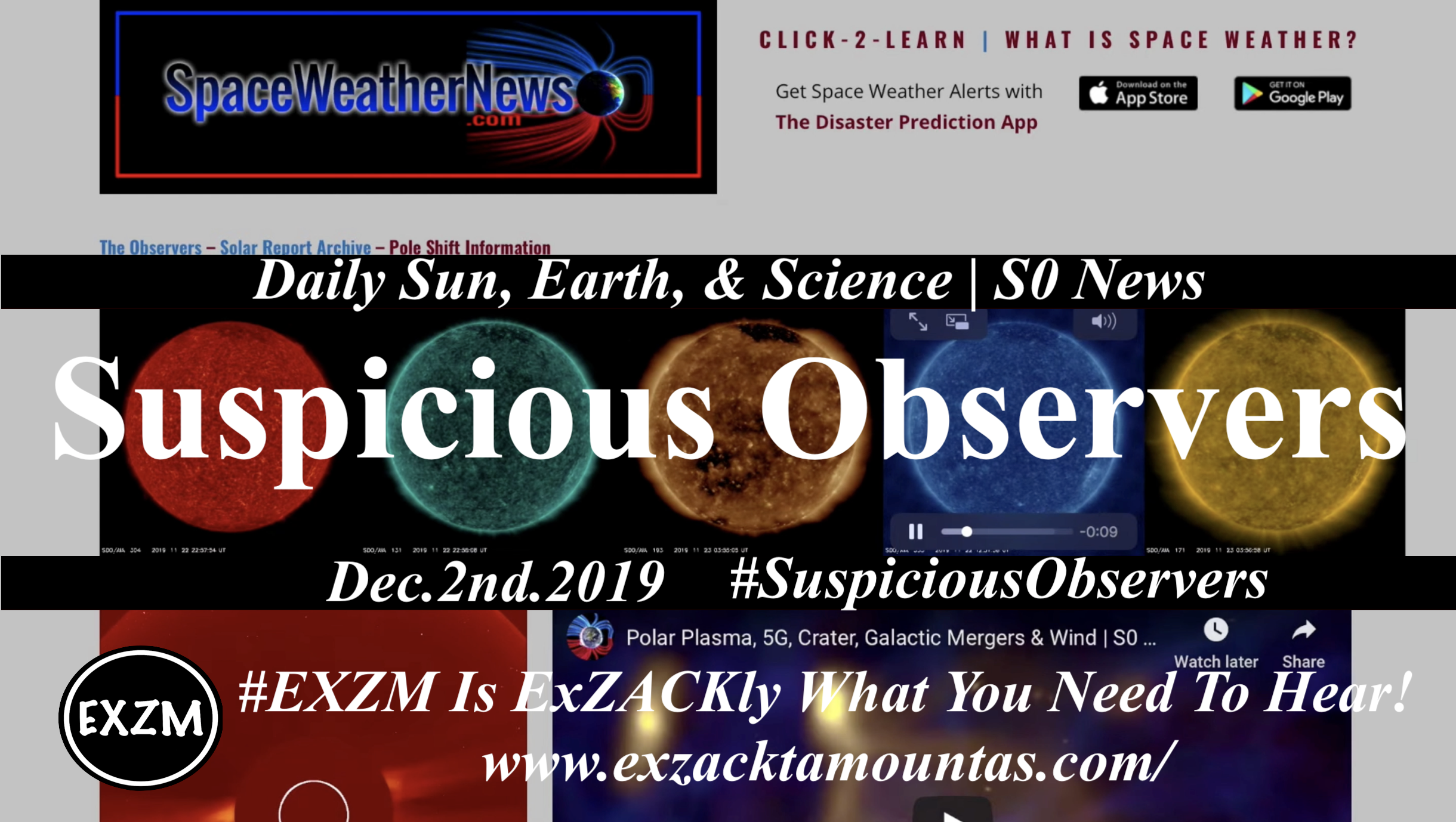 EXZM Suspicious Observers post official 12 2 2019