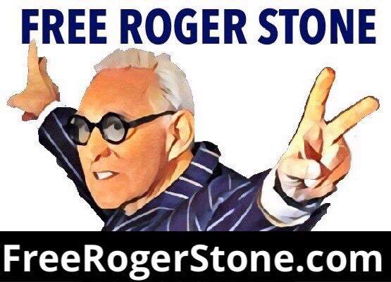 Free Roger Stone Poster 12 30 2019
