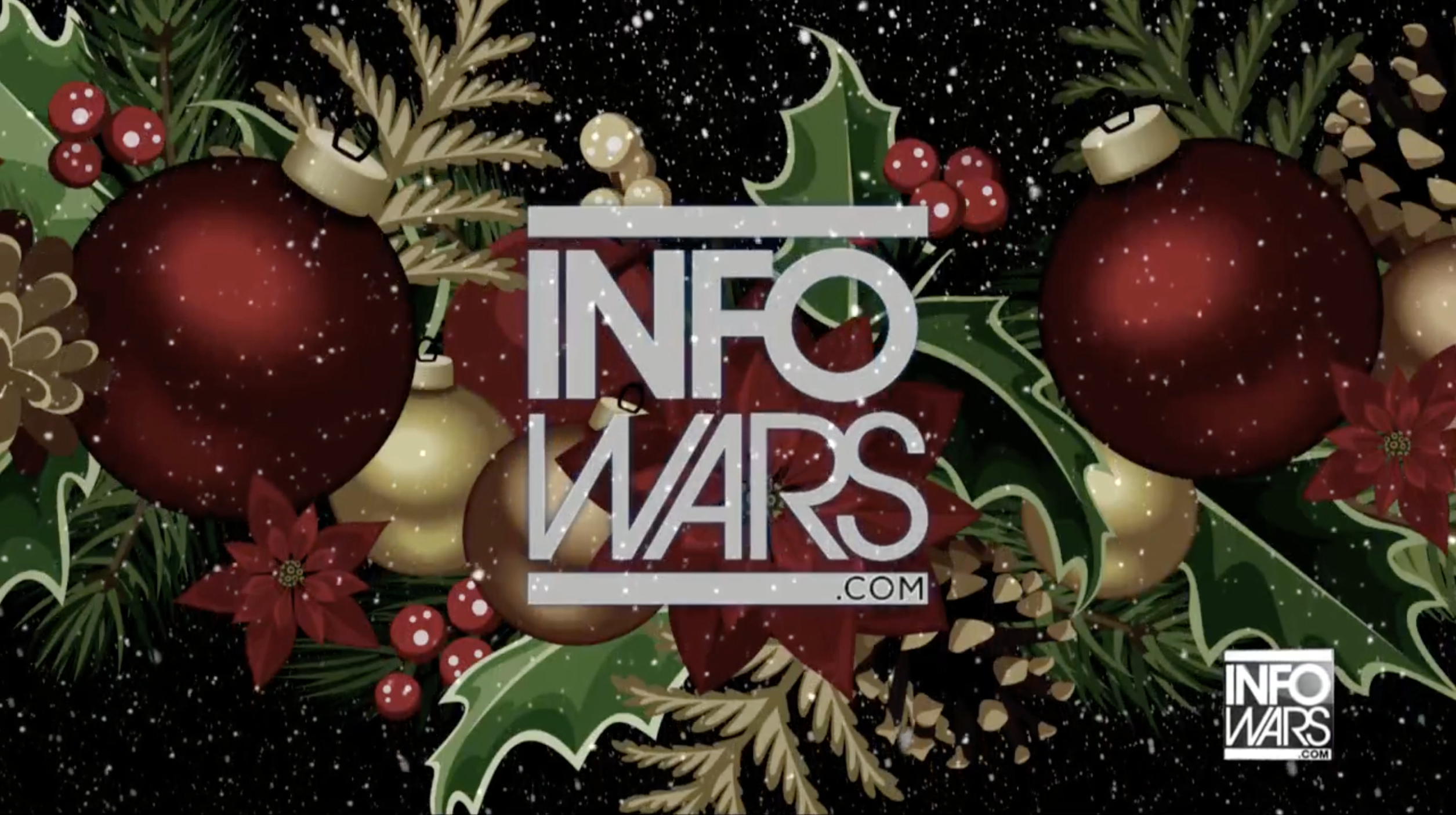 Infowars Christmas theme 12 6 2019
