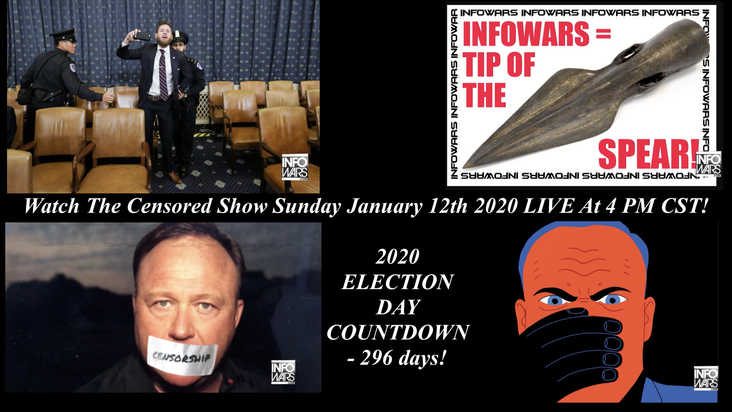 Alex Jones Censored Show 1 12 2020