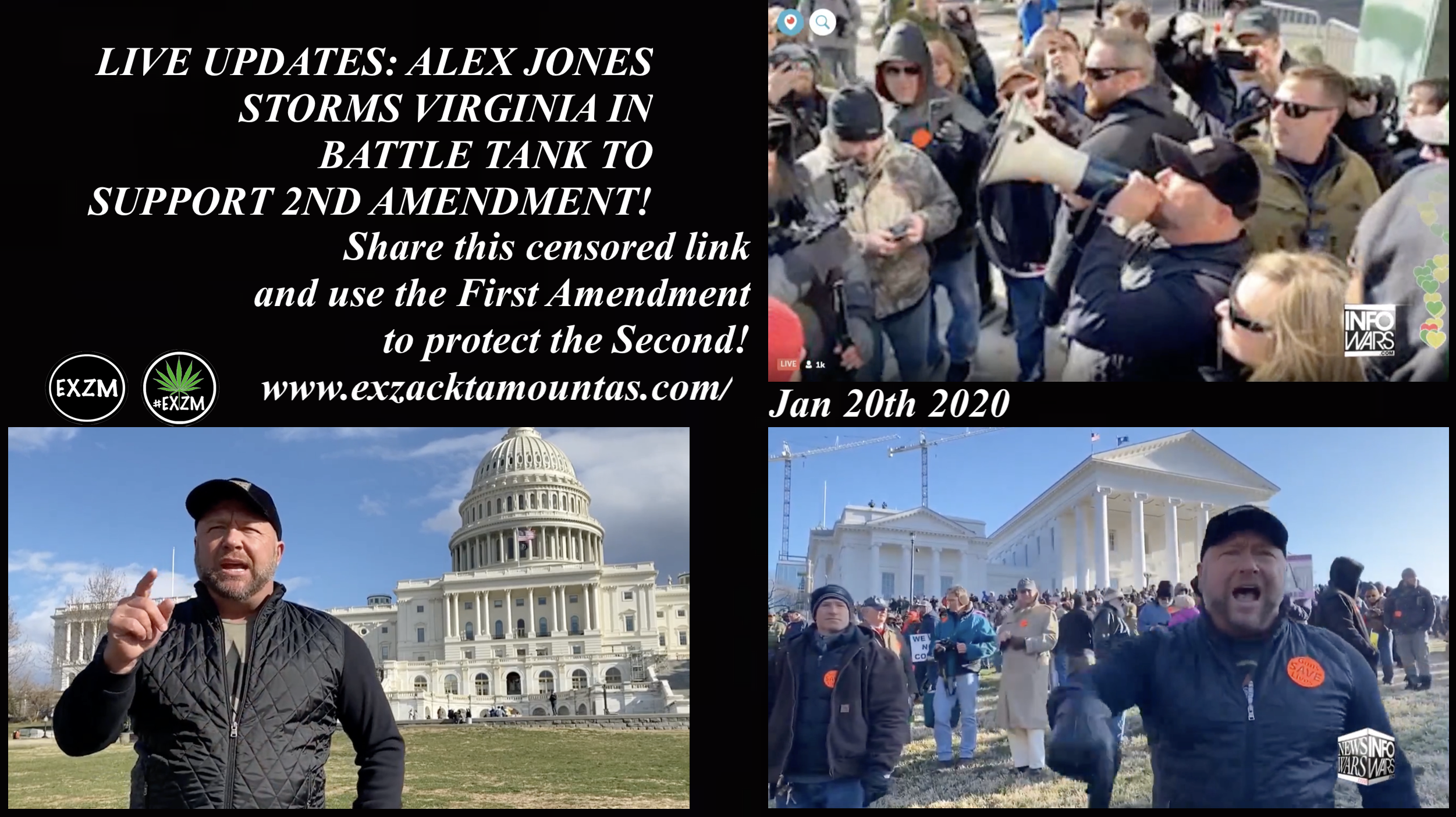 Infowars Richmond Virginia 1 20 2020