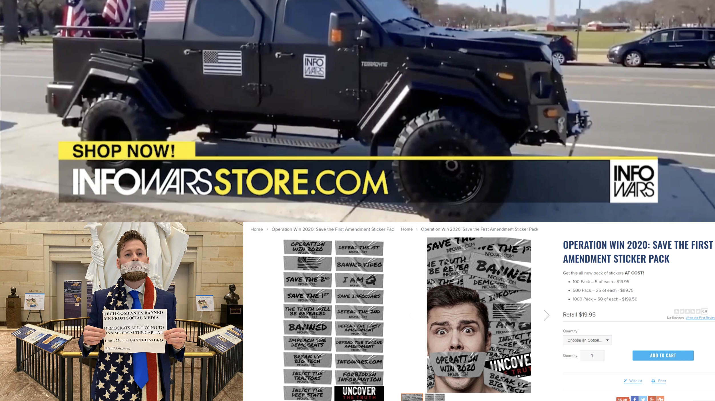 Infowars Store Owen Shroyer 1 24 2020