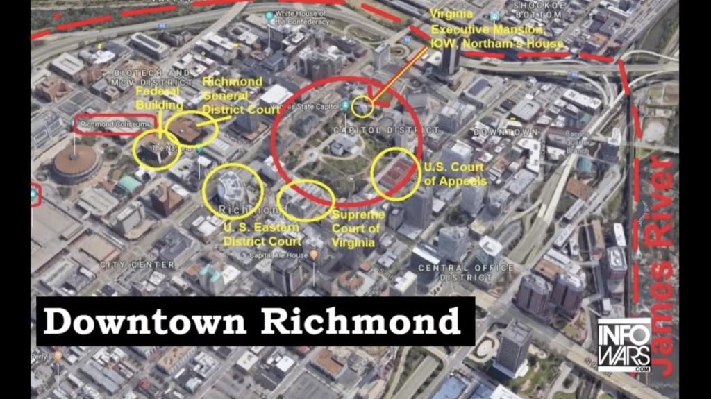 Richmond Virginia map 1 16 2020 1