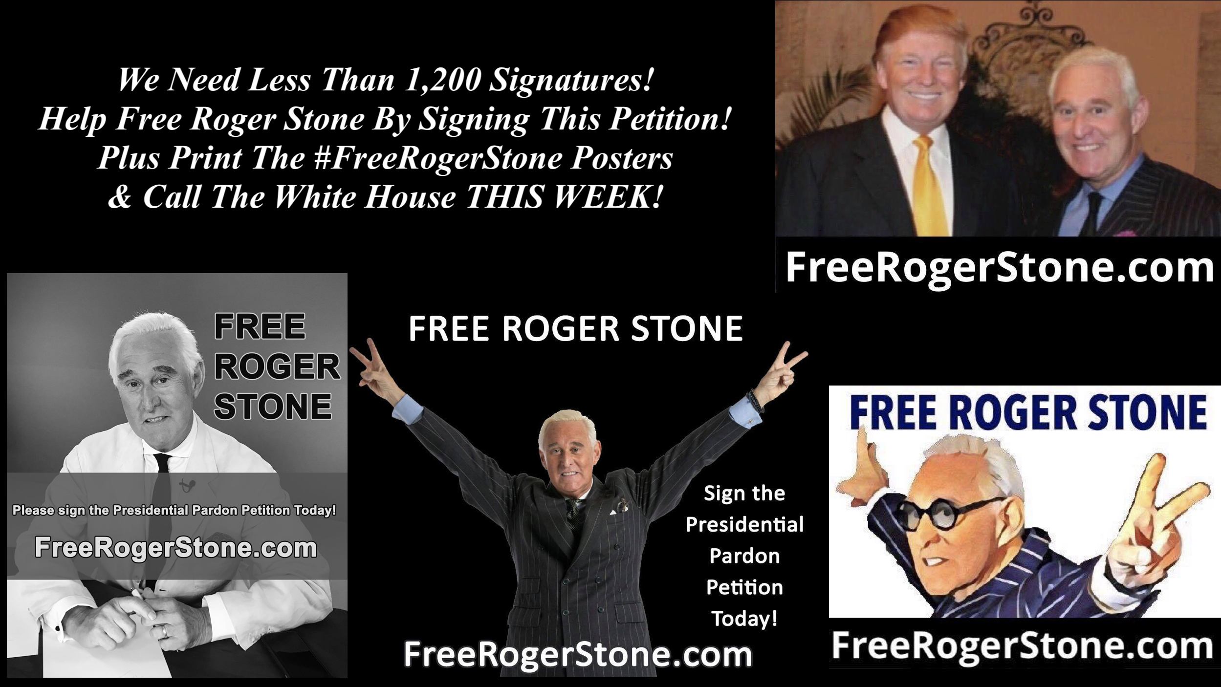 Sign Roger Stone Petition 1 15 2020