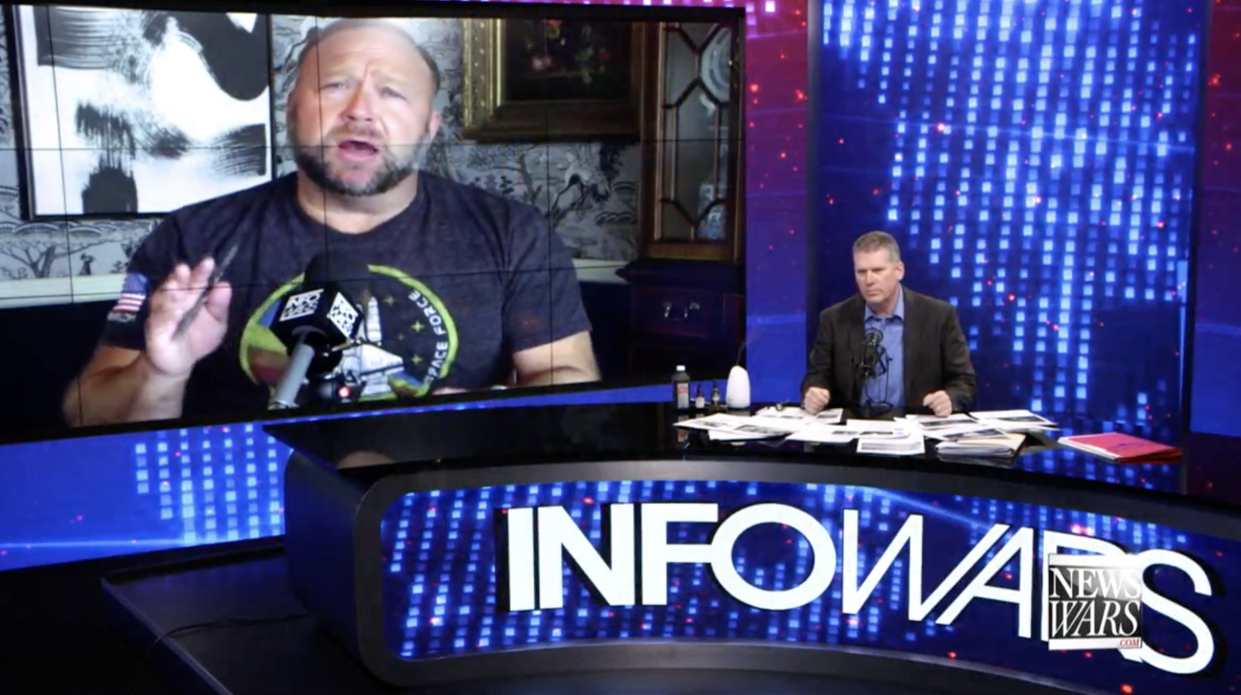 Alex Jones Mike Adams Infowars 2 28 2020
