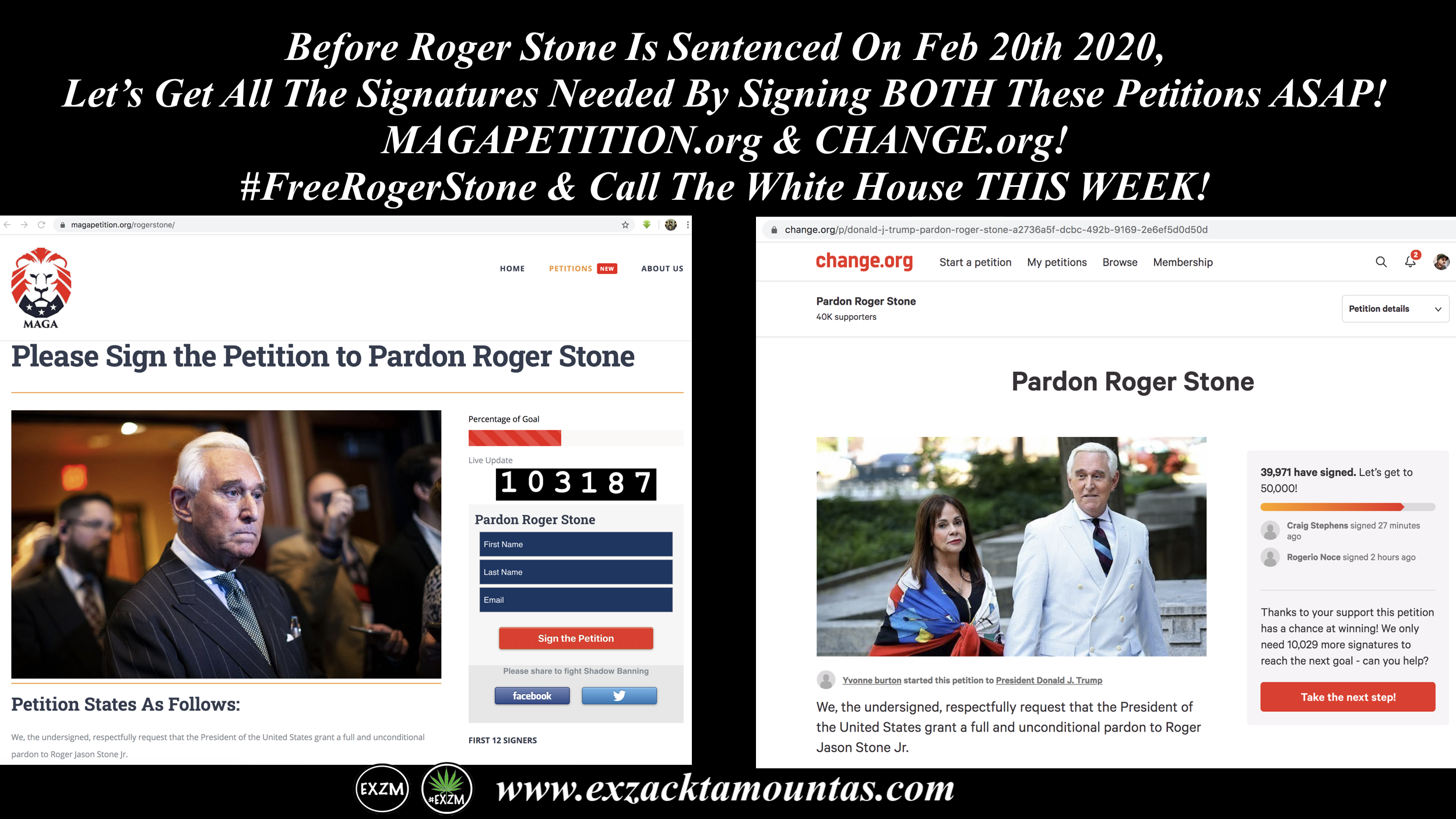 Roger Stone Petition 2 9 2020