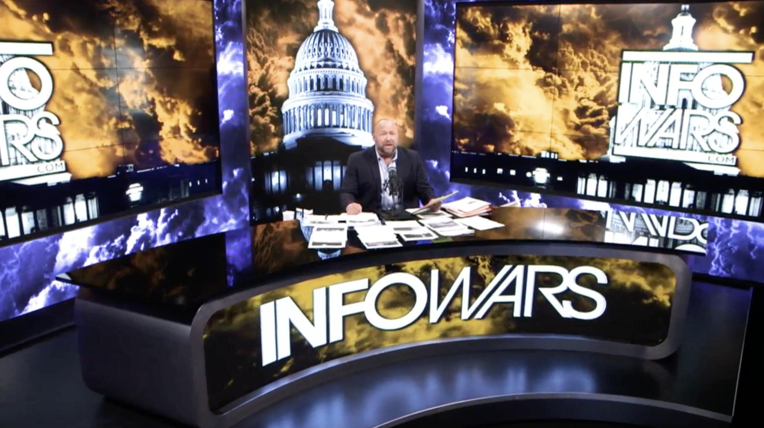 Alex Jones Infowars 3 11 2020