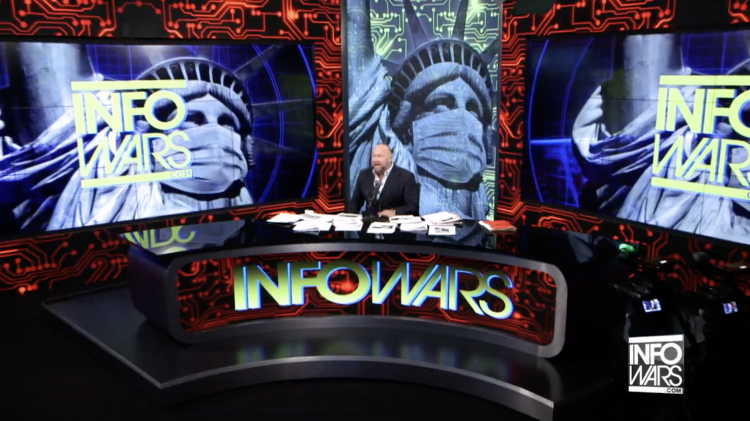 Alex Jones Infowars 3 25 2020 2