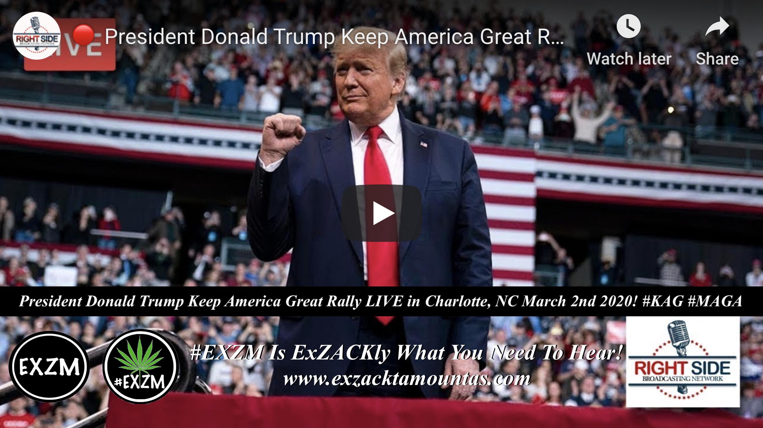 Donald Trump KAG MAGA Charlotte, NC March 2nd 2020