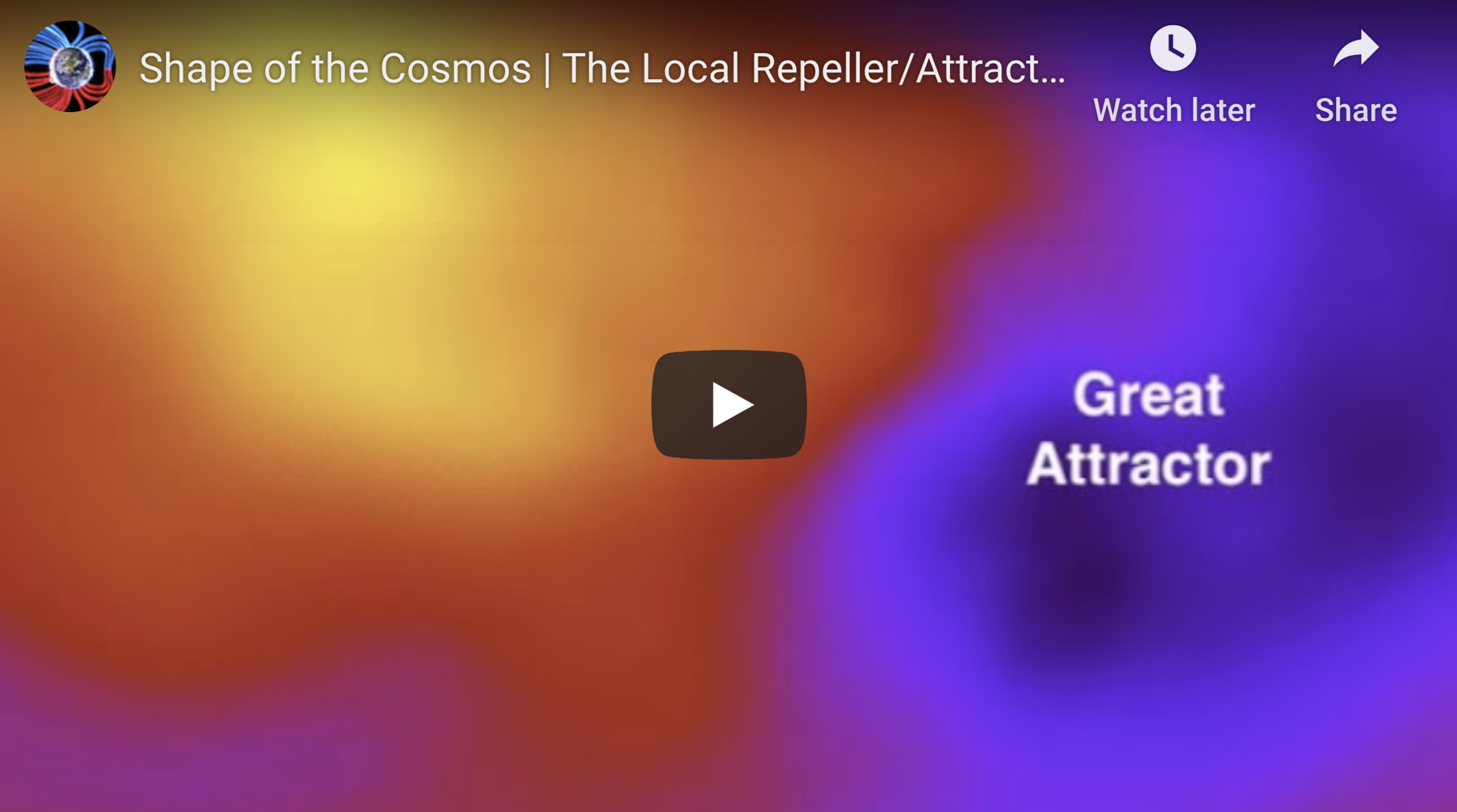 Shape of the Cosmos The Local Repeller Attractor 4 17 2020