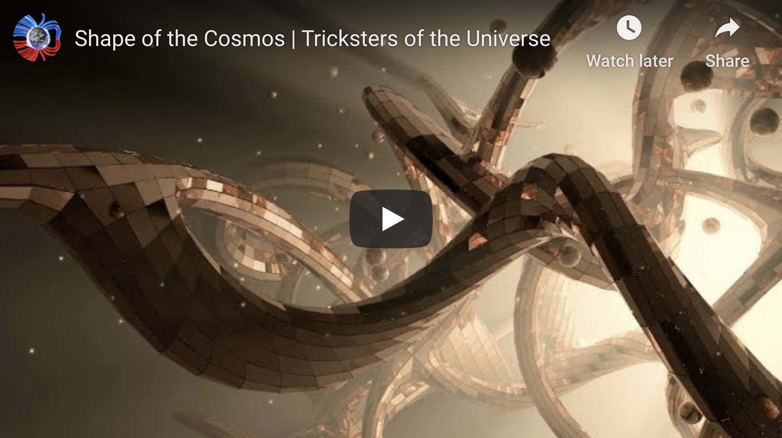 Shape of the Cosmos Tricksters of the Universe 4 19 2020