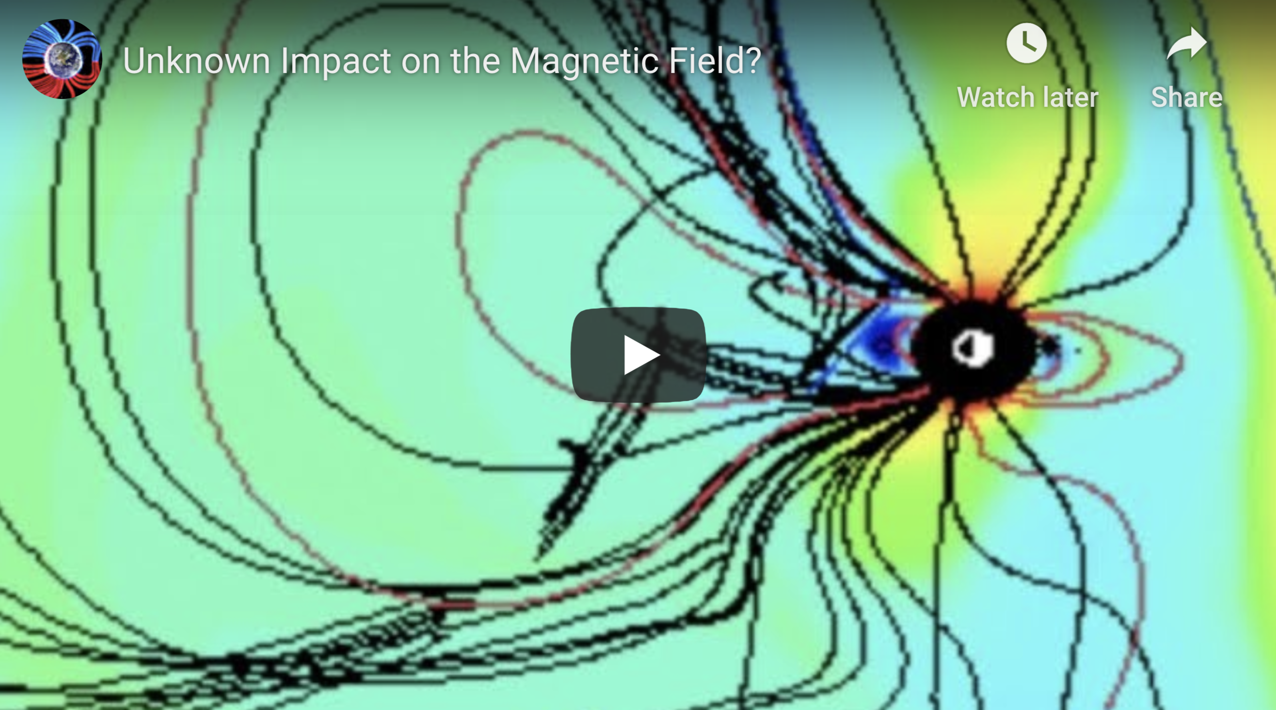 Unknown Impact on the Magnetic Field 4 11 2020