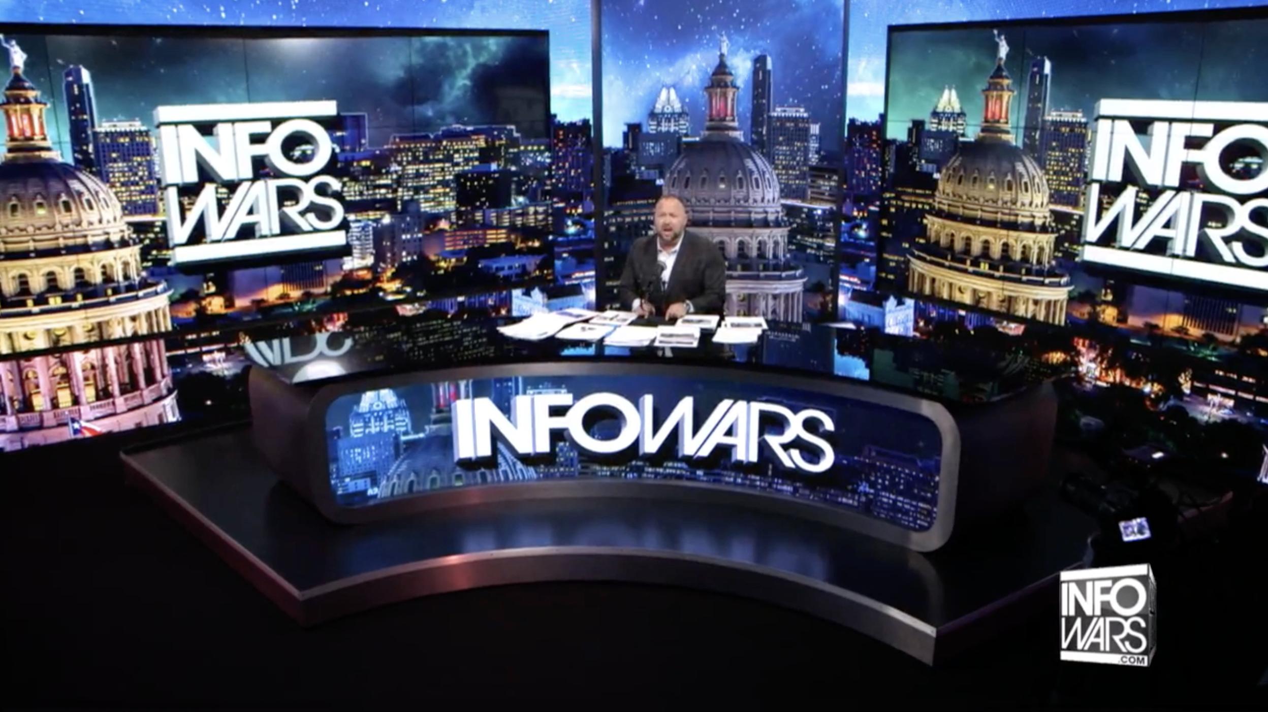 Alex Jones Infowars 5 8 2020