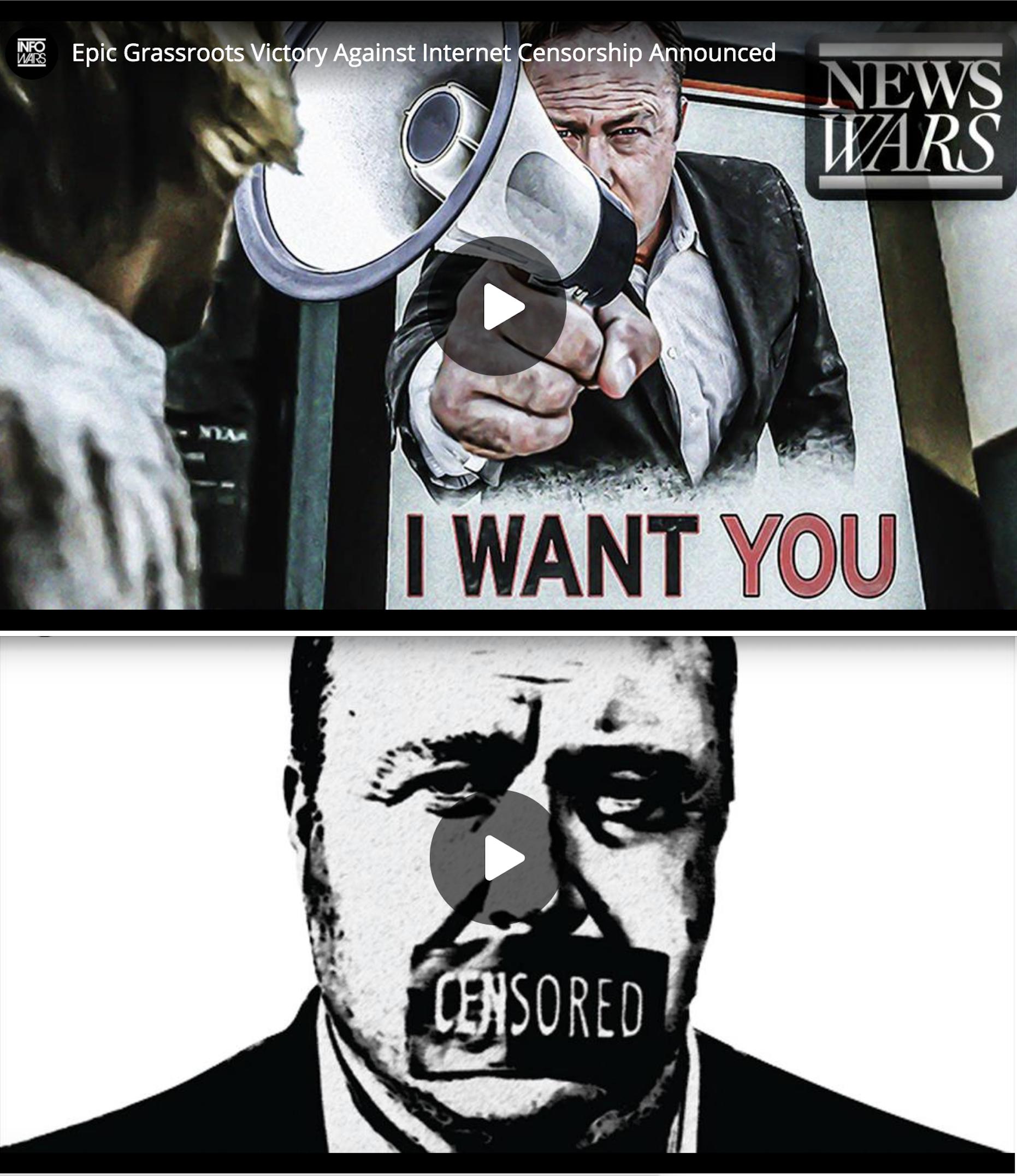 Alex Jones Infowars Free Speech Contest Winners 7 11 19 5 29 2020