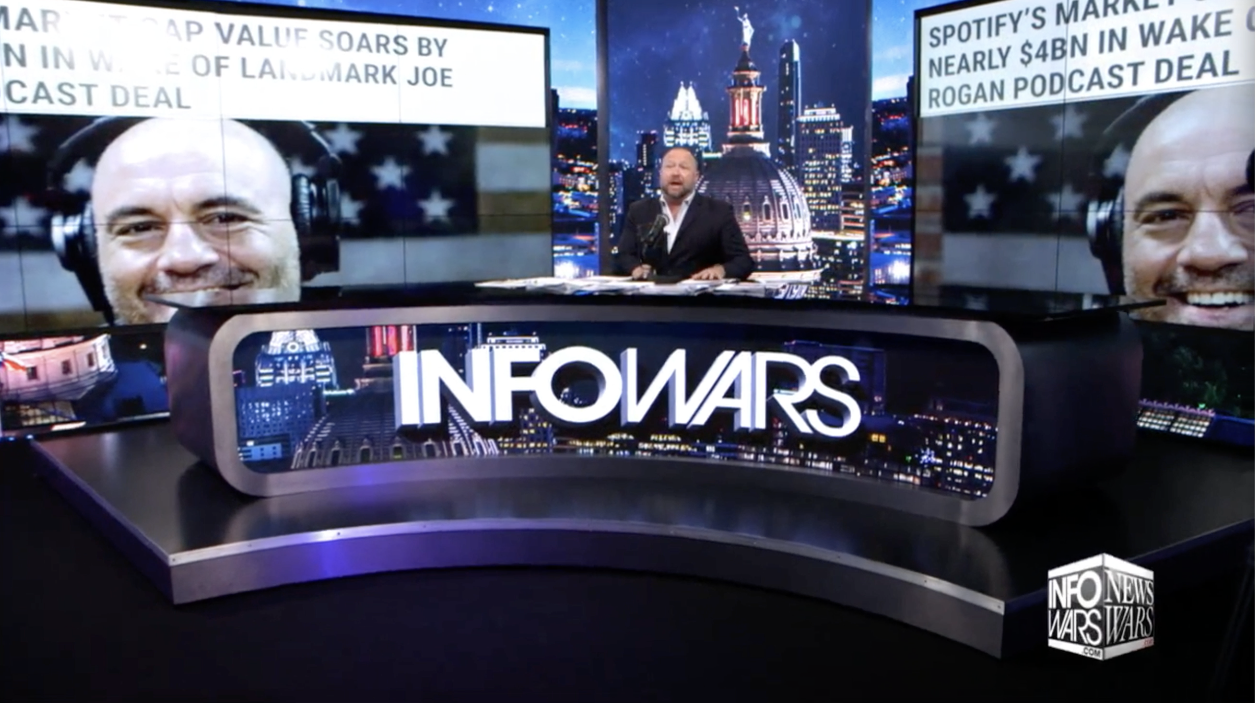 Alex Jones Infowars Joe Rogan 5 21 2020