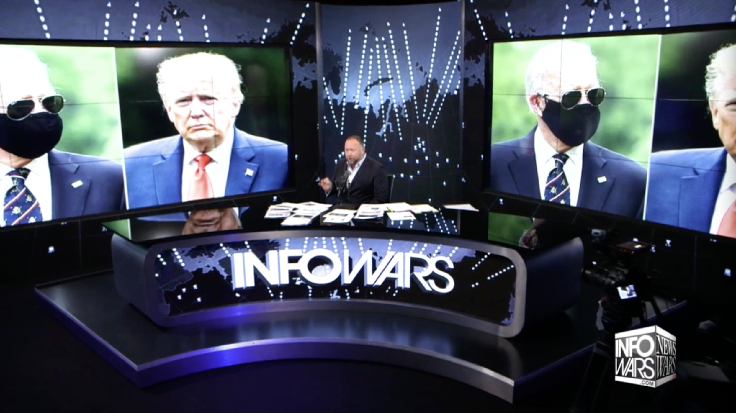 Alex Jones Infowars Trump Biden 5 27 2020