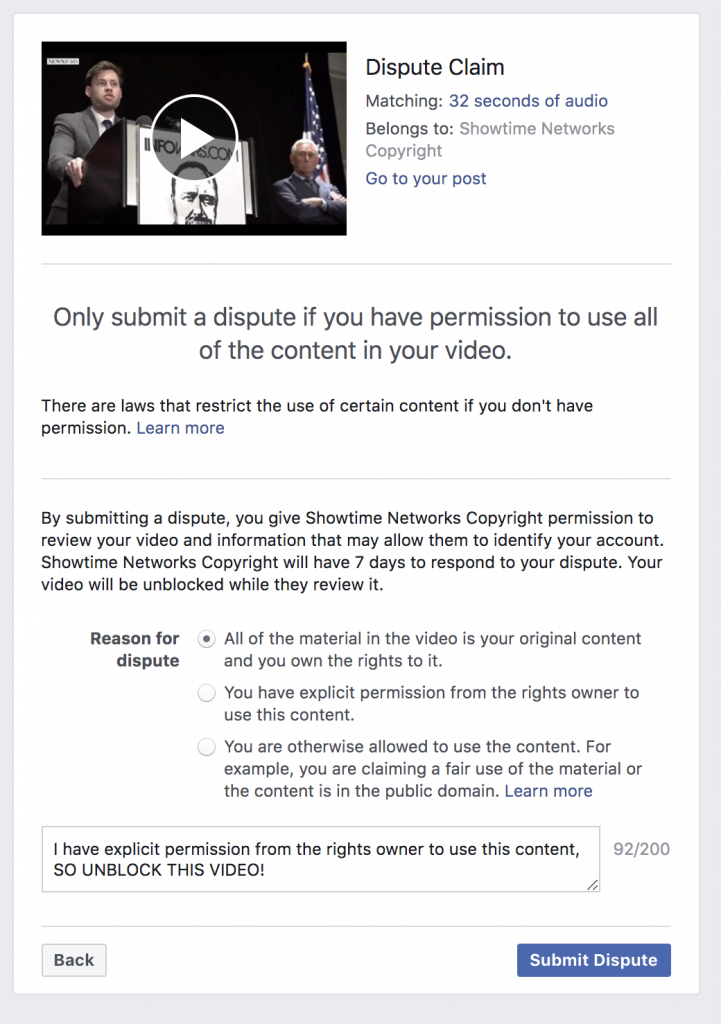 Facebook Banned Me For 3 days 5 6 2020 10