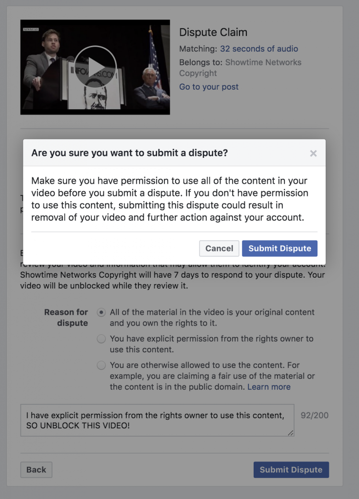 Facebook Banned Me For 3 days 5 6 2020 11