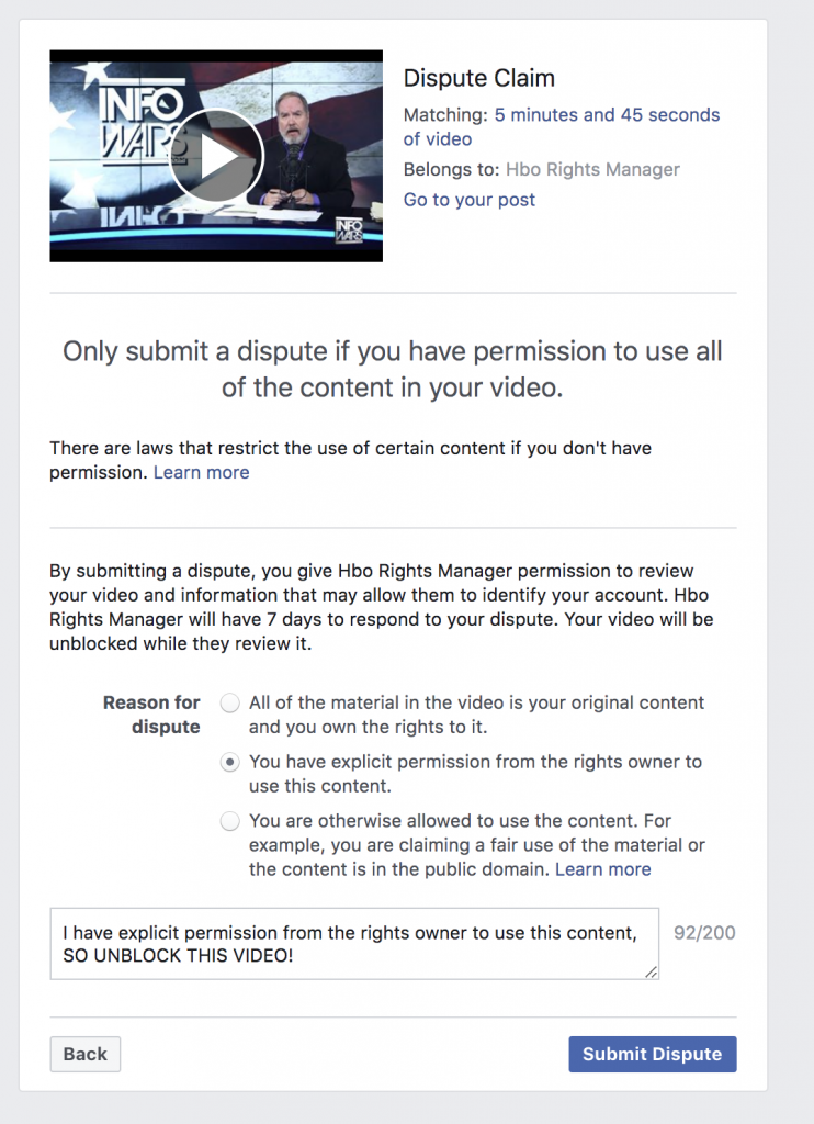 Facebook Banned Me For 3 days 5 6 2020 6