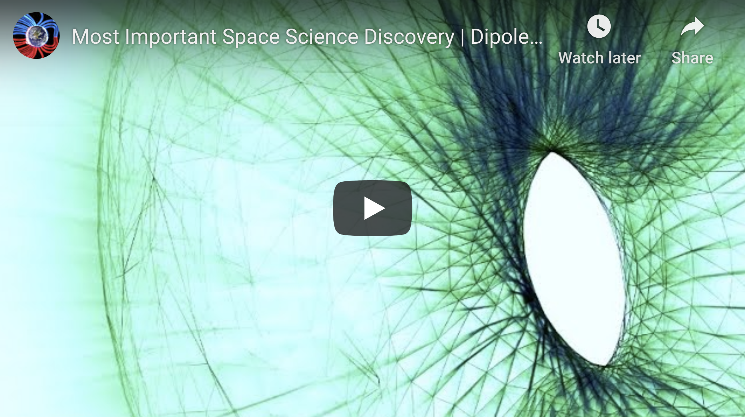 Most Important Space Science Discovery Dipole Scalable Universe 5 9 2020