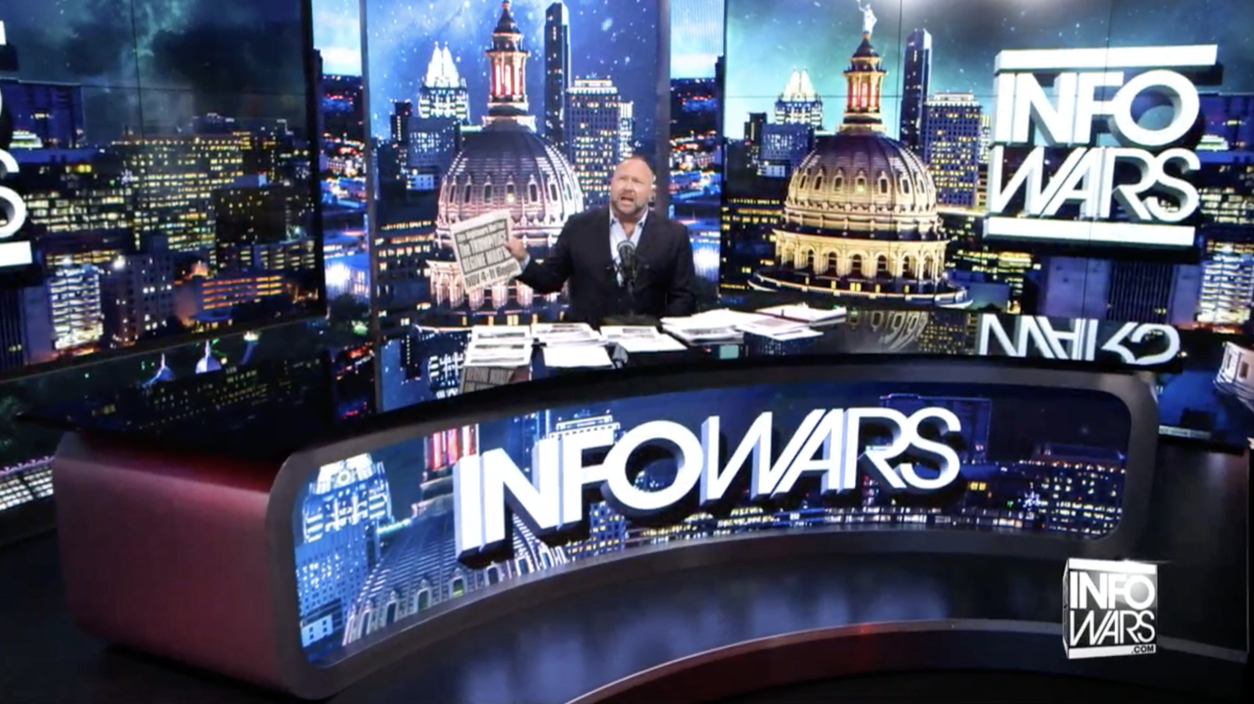Alex Jones Infowars 6 1 2020