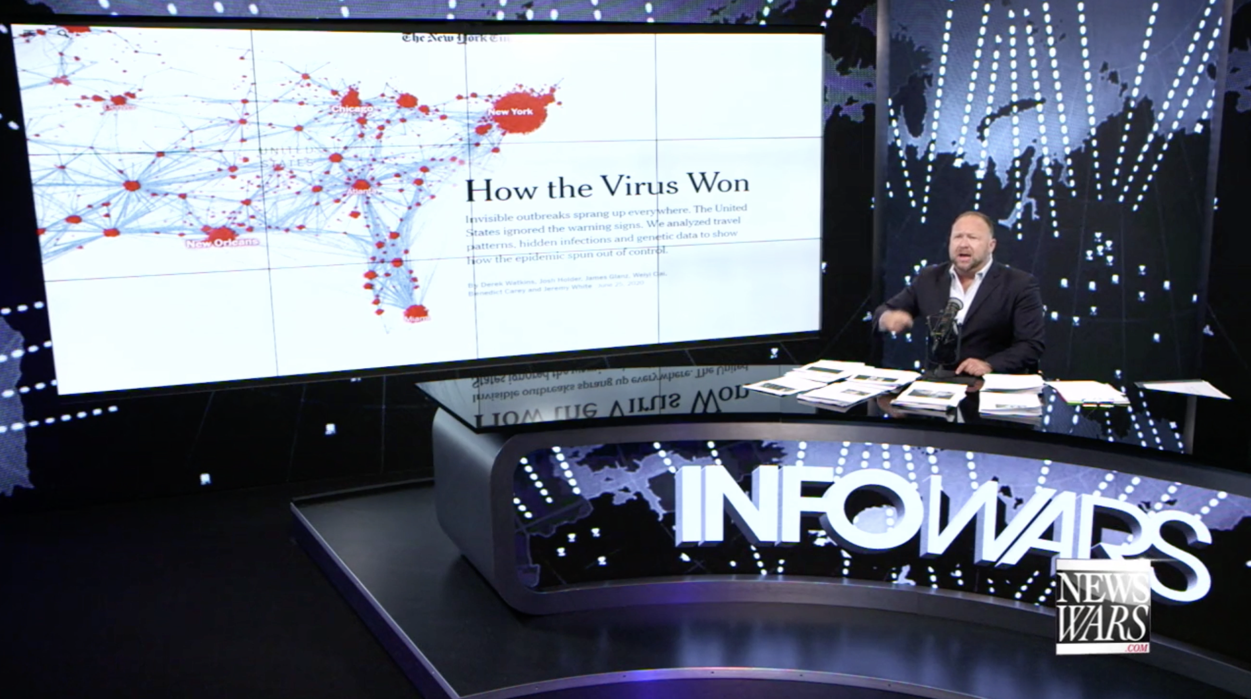 Alex Jones Infowars How Coronavirus Won 6 25 2020