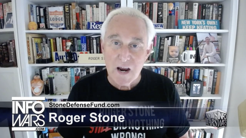 Roger Stone Alex Jones Infowars June 30th 2020