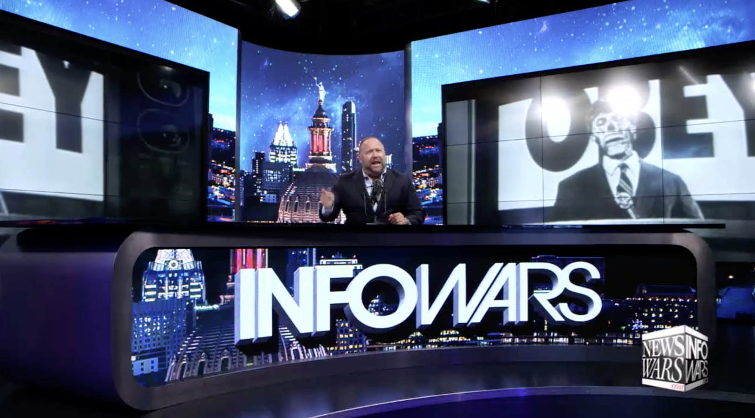 Alex Jones Infowars Studio EXZM Coronavirus COVID19 United Nations July 19th 2020