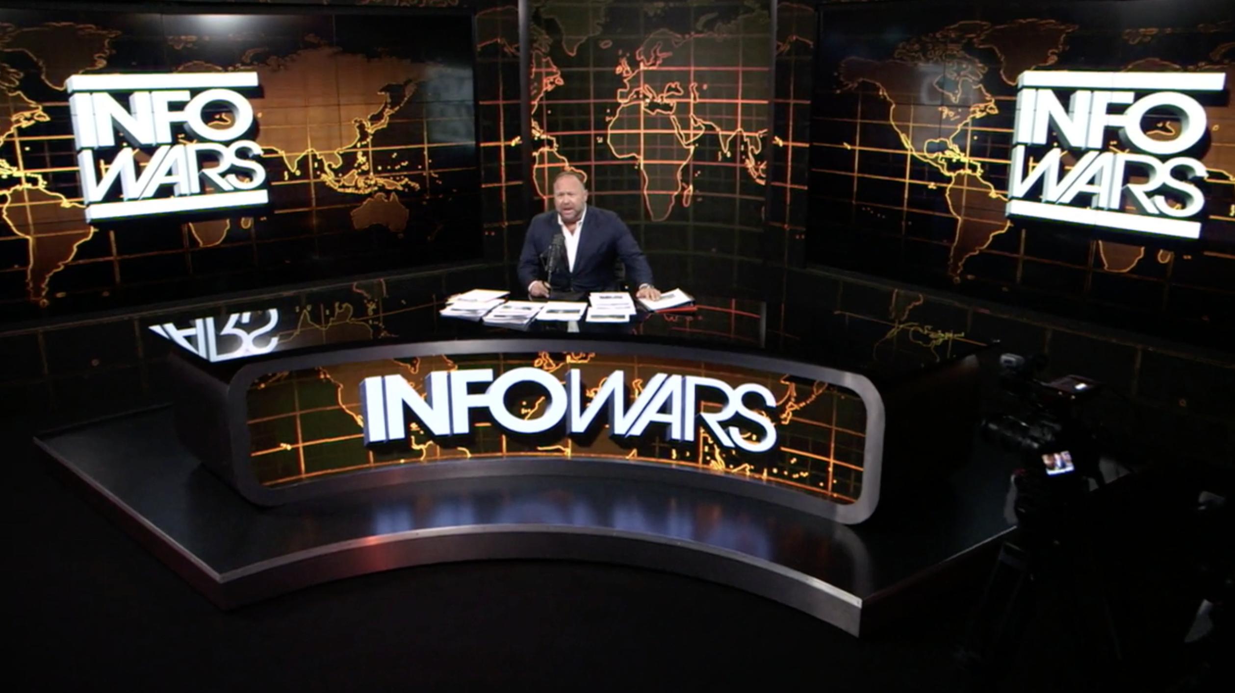 Alex Jones Infowars Studio EXZM July 27th 2020