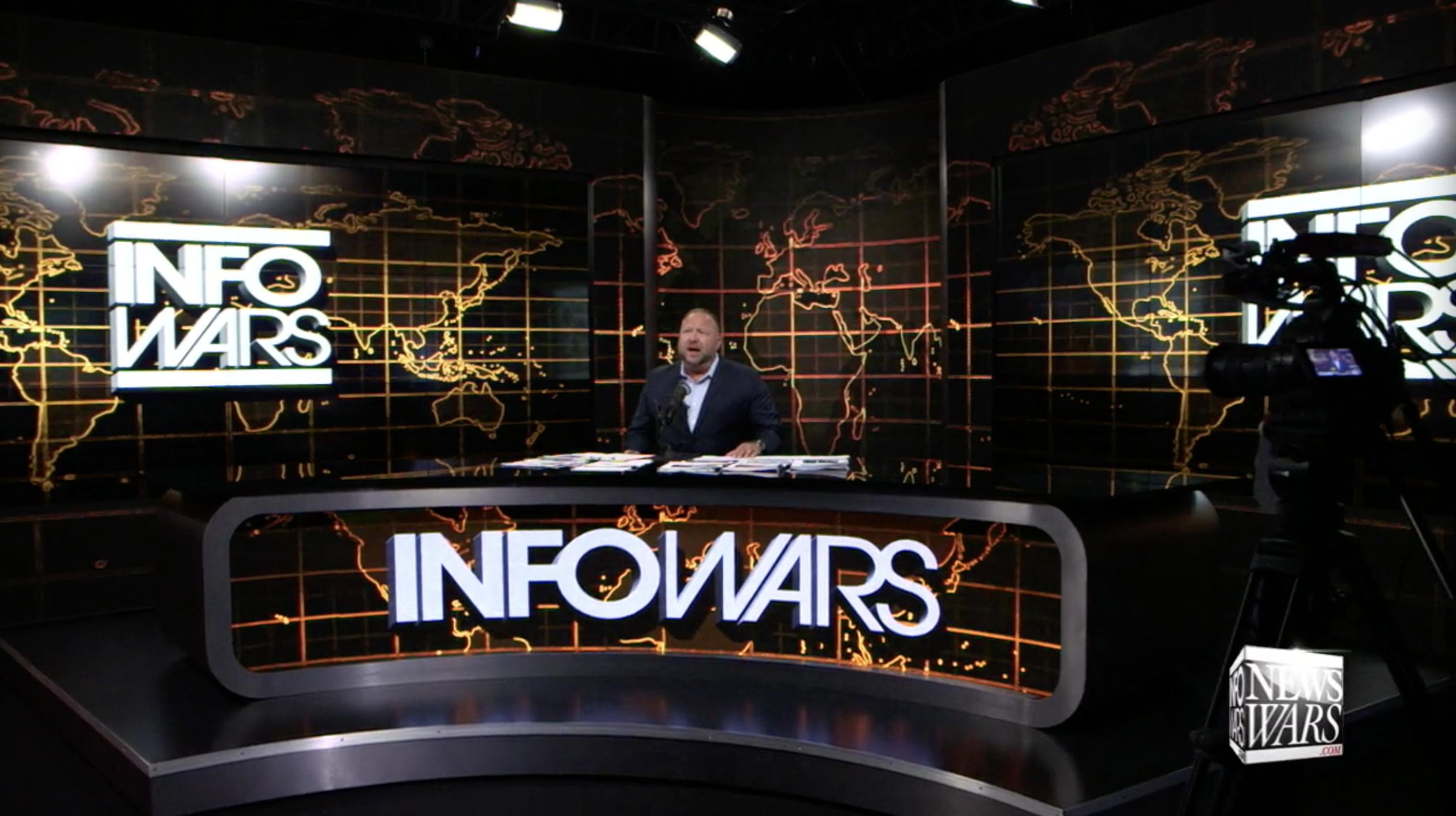 Alex Jones Infowars Studio EXZM July 28th 2020