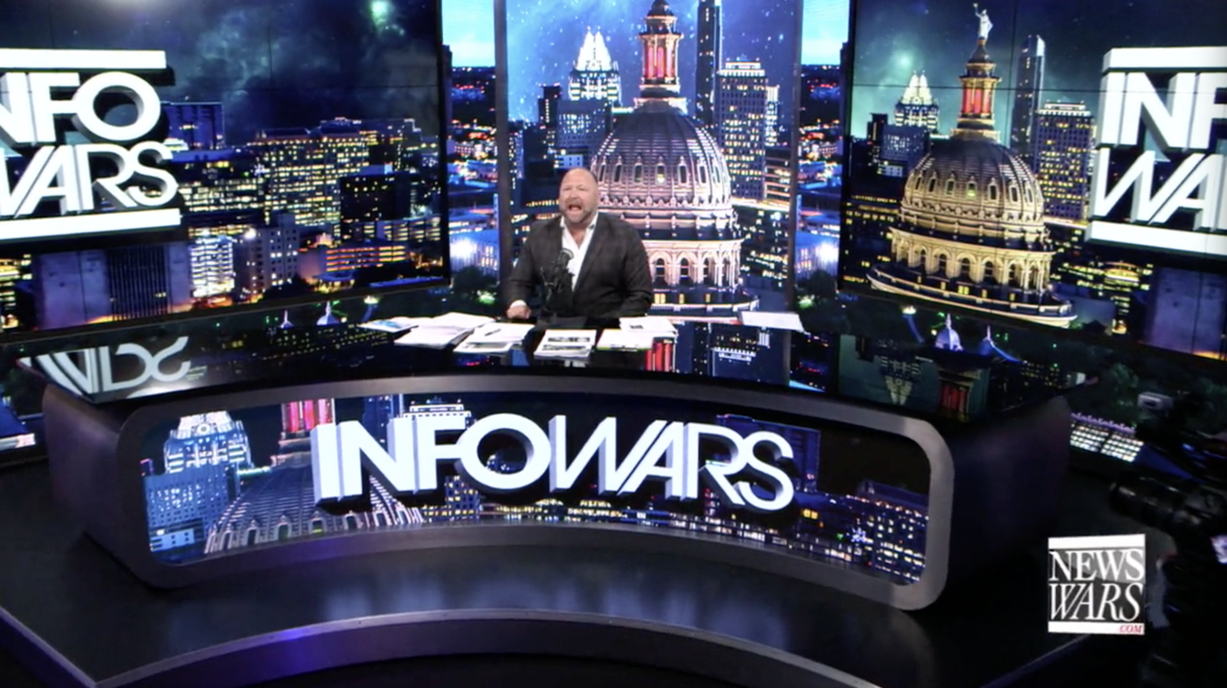 Alex Jones Infowars Studio God July 6th 2020