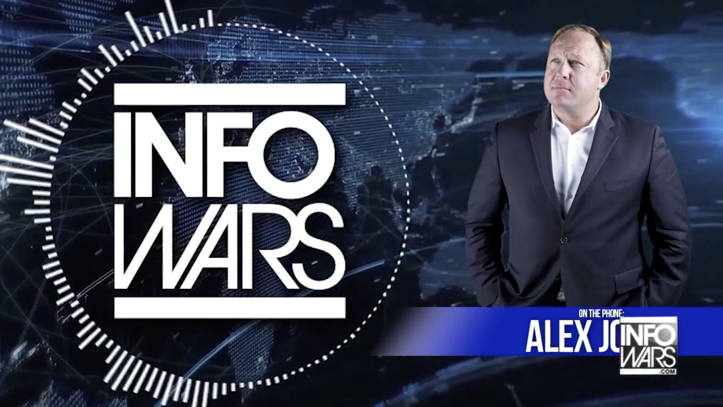 Alex Jones On The Phone Infowars Banned Dot Video EXZM July 23rd 2020