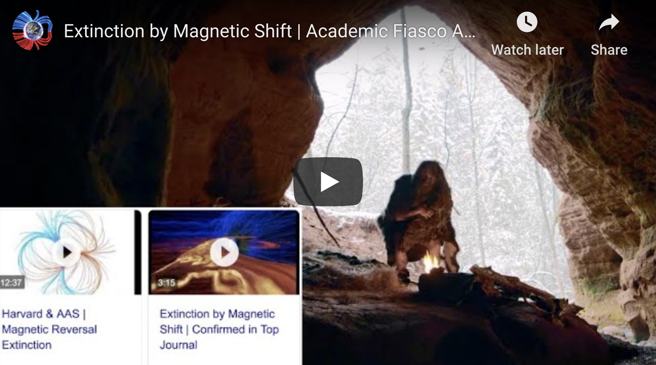 Extinction by Magnetic Shift Academic Fiasco Again EXZM Suspicious Observers post July 11th 2020