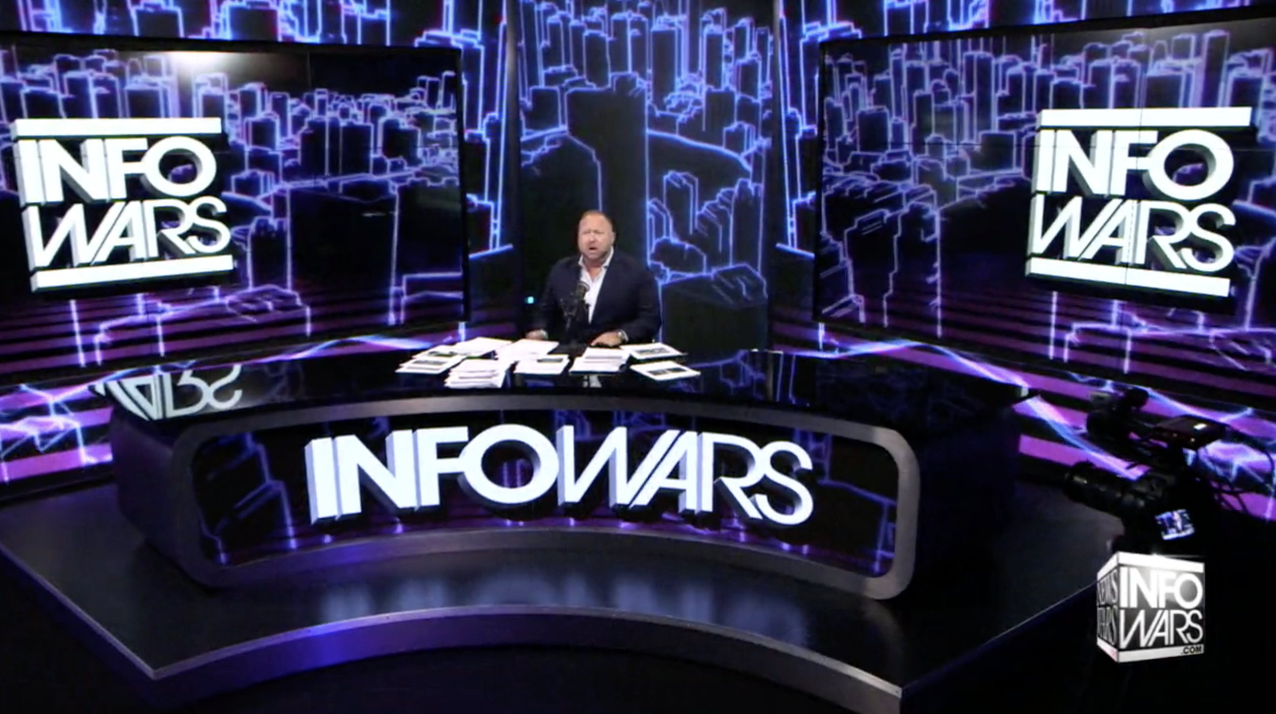 Infowars Alex Jones Show Studio EXZM July 9th 2020