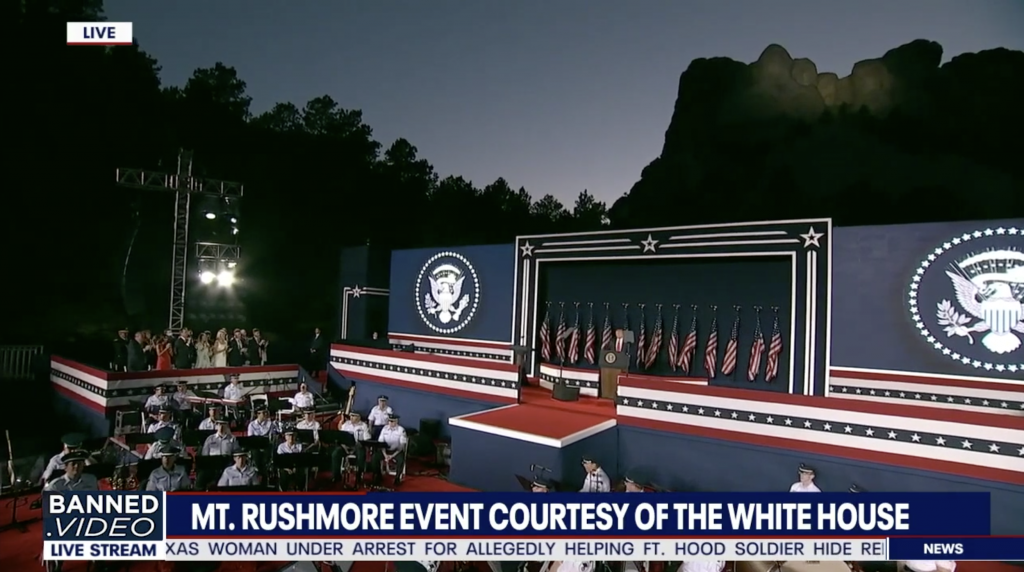 President Trump Independence Day Speech Mount Rushmore 3rd 4th of July 2020