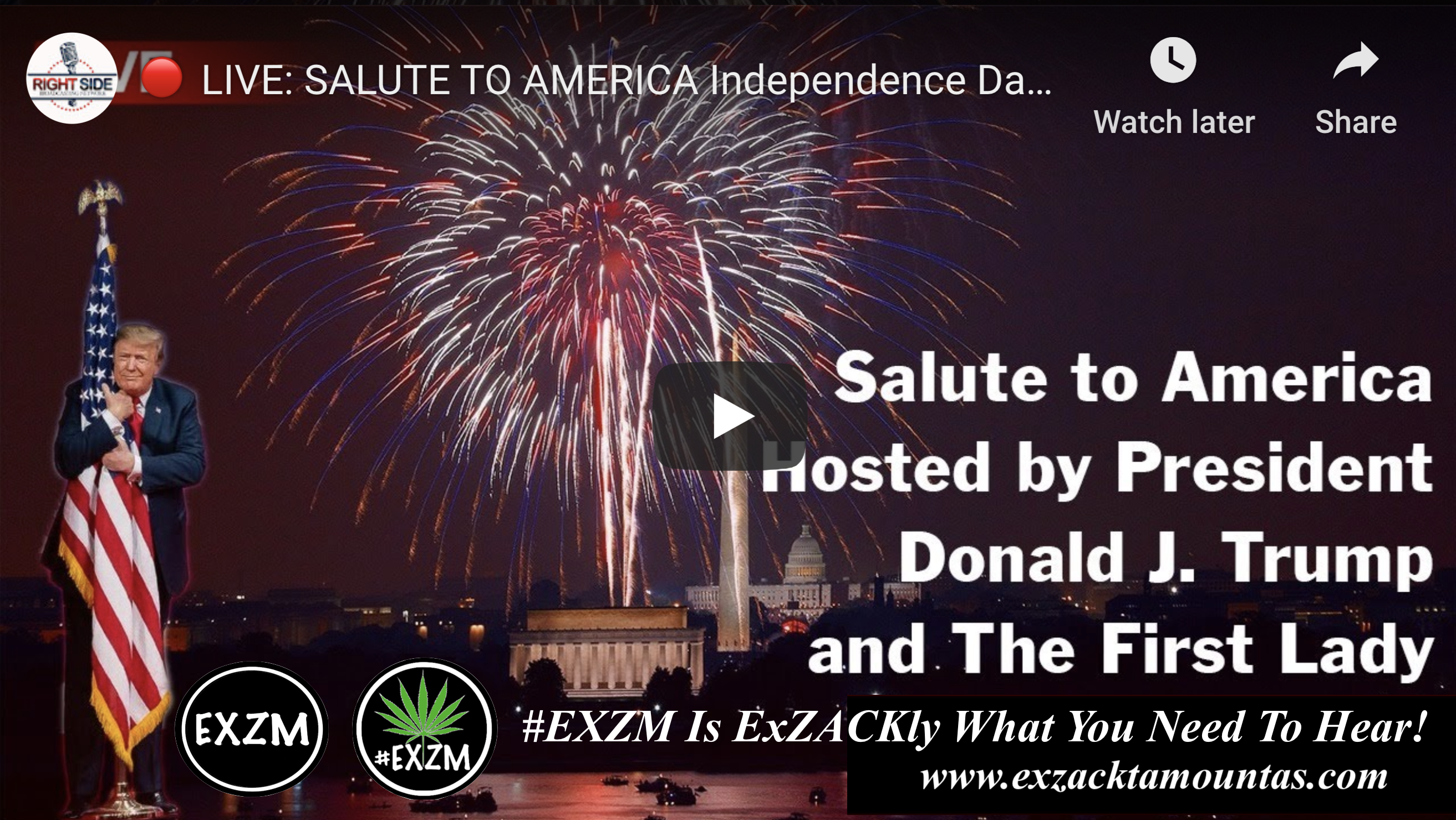 President Trump Independence Day Speech Salute To America Washington DC 4th of July 2020