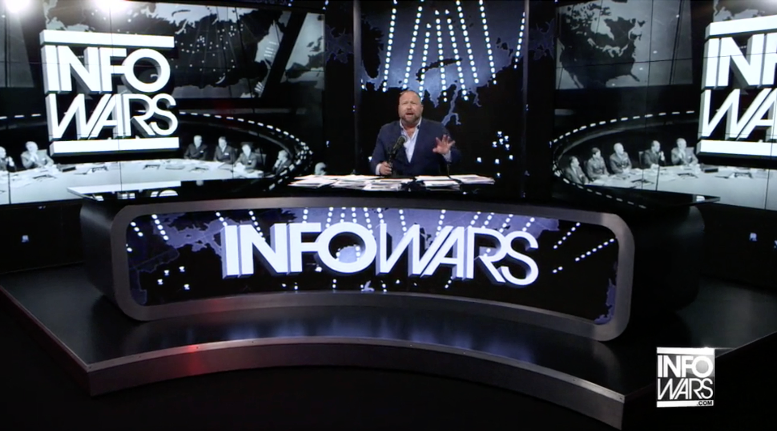 Alex Jones Infowars Studio EXZM August 11th 2020