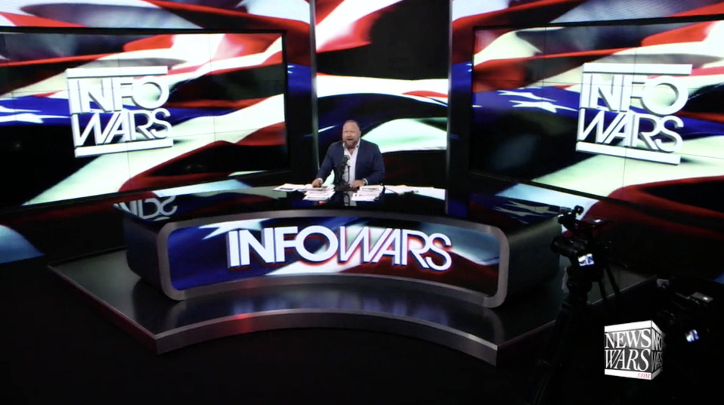 Alex Jones Infowars Studio EXZM August 12th 2020