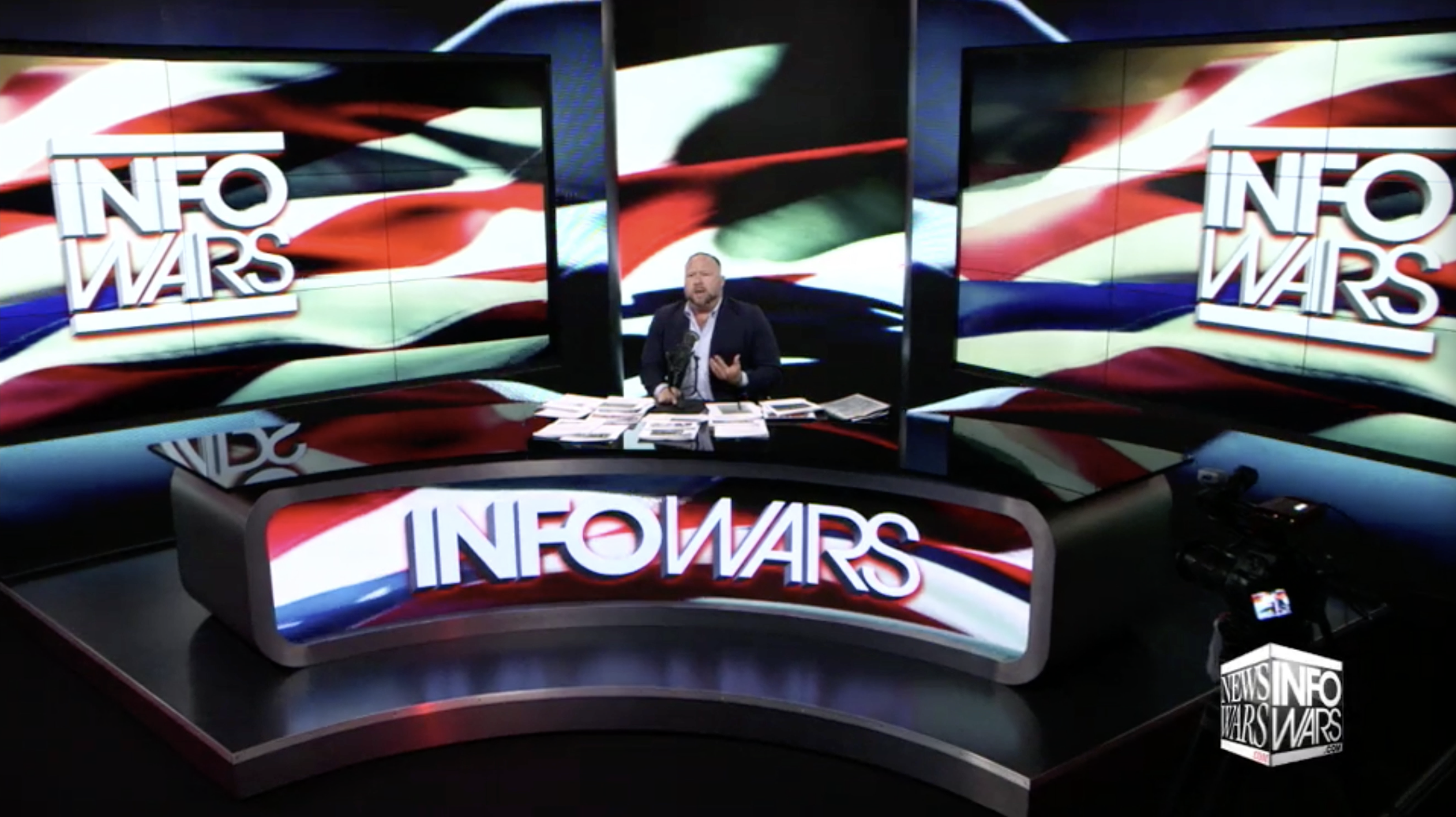 Alex Jones Infowars Studio EXZM August 13th 2020