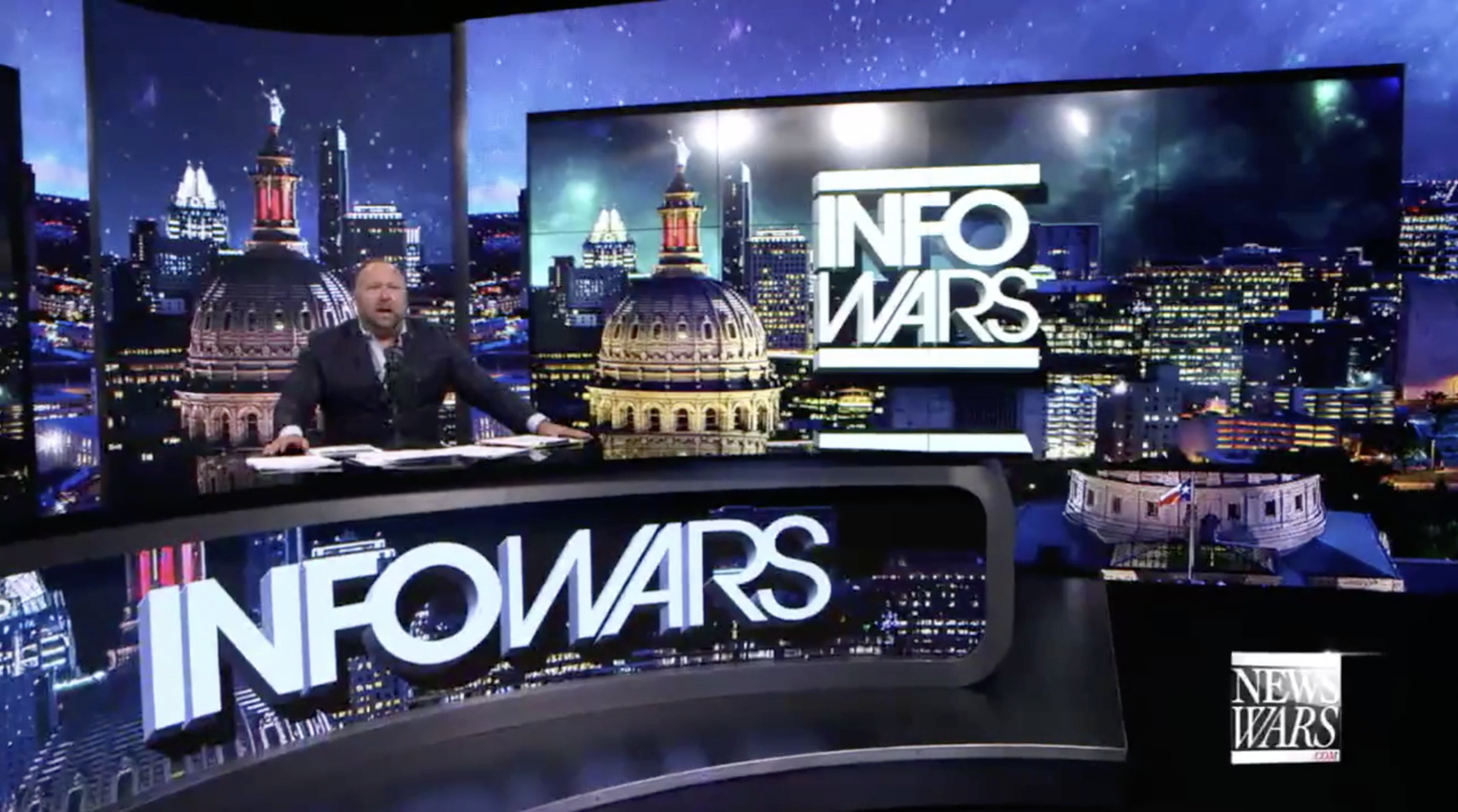 Alex Jones Infowars Studio EXZM August 2nd 2020