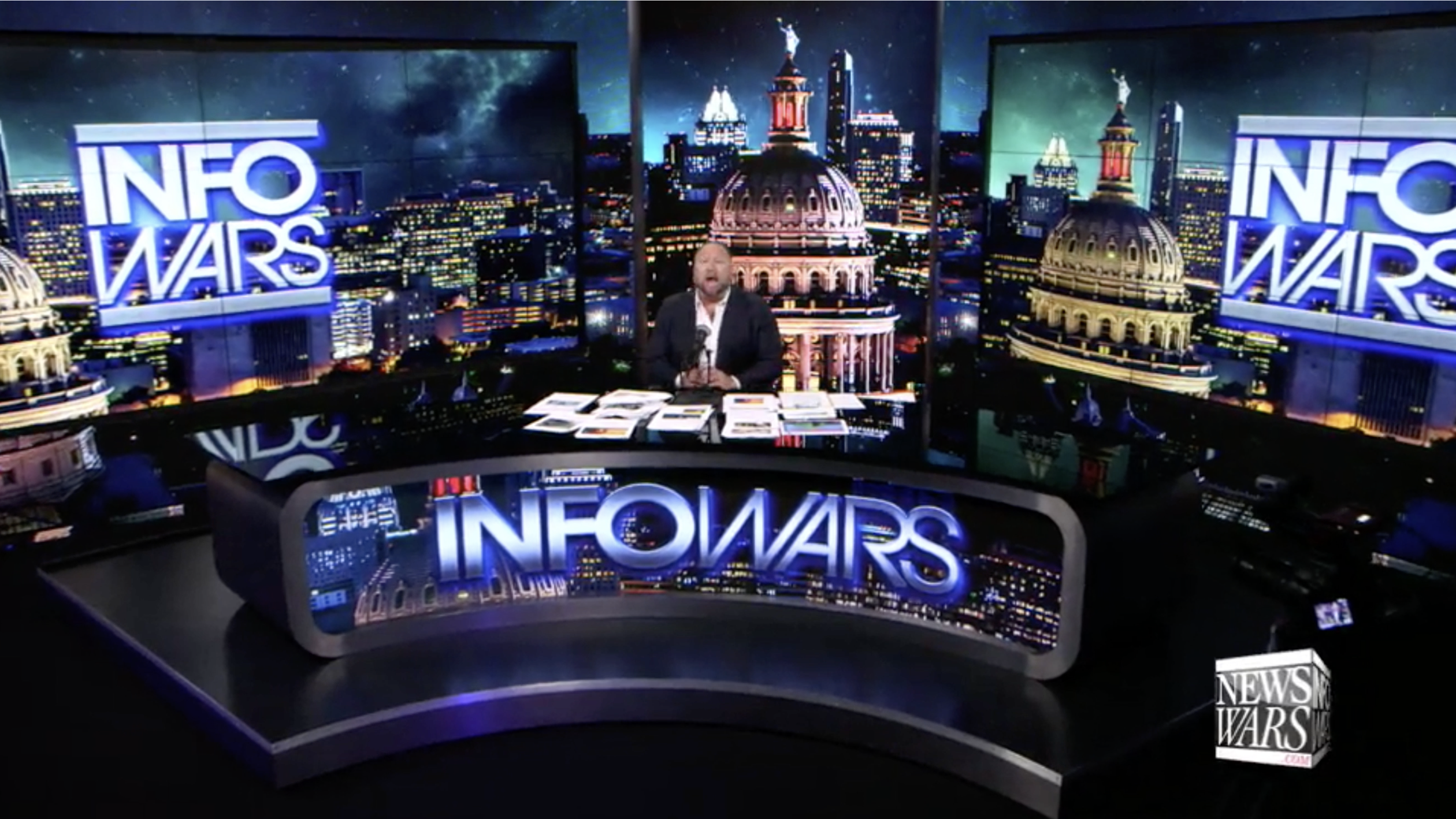 Alex Jones Infowars Studio EXZM August 31st 2020